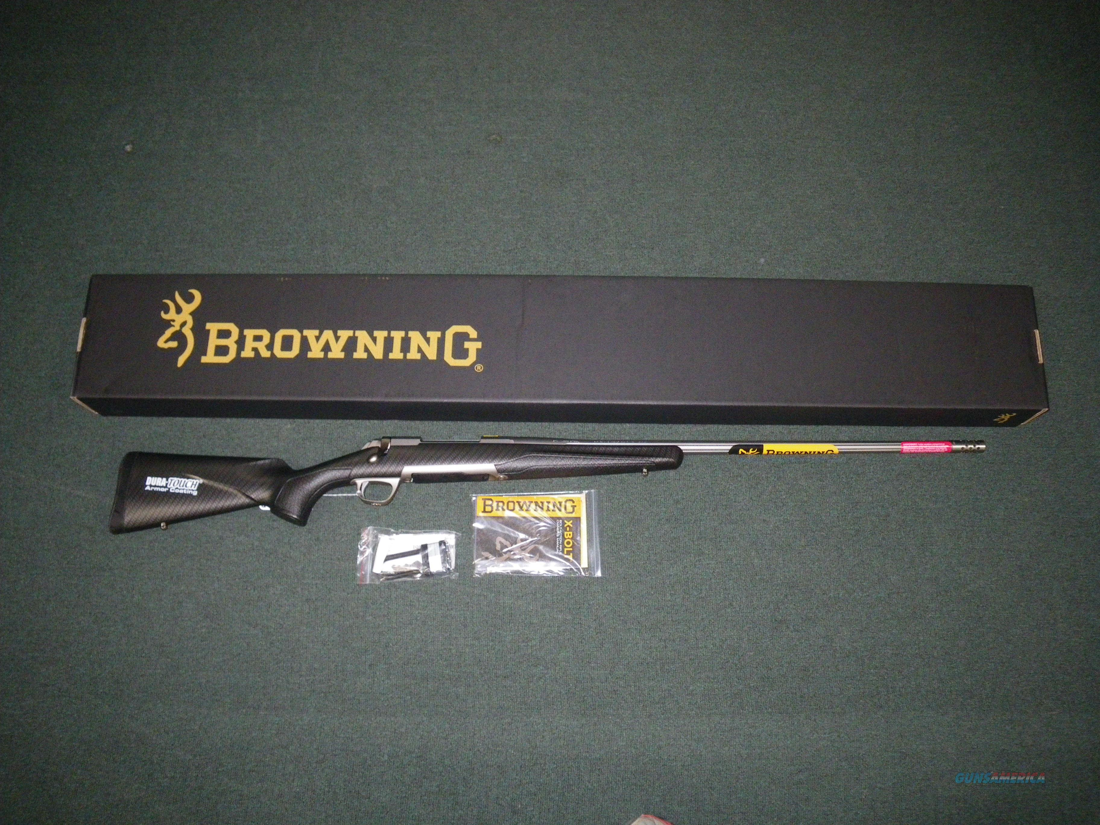 "Browning X-Bolt LRH Carbon Stainless 6.5 Creed 26"" #035375282  Guns > Rifles > Browning Rifles > Bolt Action > Hunting > Stainless"