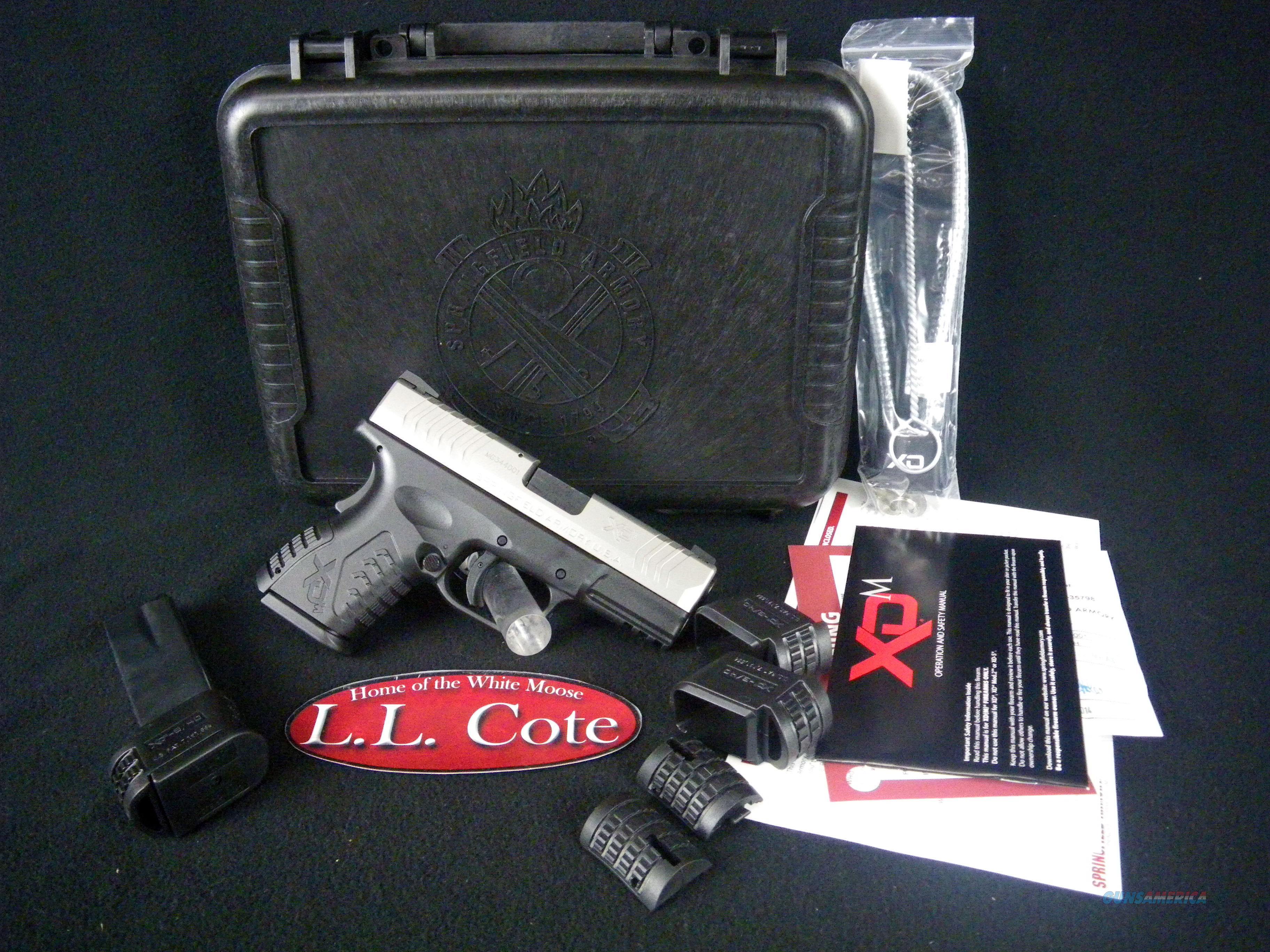 "Springfield XDM Compact Black 40S&W 3.8"" NEW XDM9384CSHCE  Guns > Pistols > Springfield Armory Pistols > XD-M"