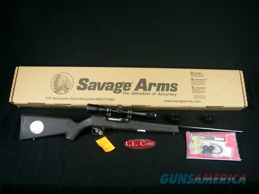"Savage A17 XP With Scope 17HMR 22"" NEW 47011  Guns > Rifles > Savage Rifles > Accutrigger Models > Sporting"