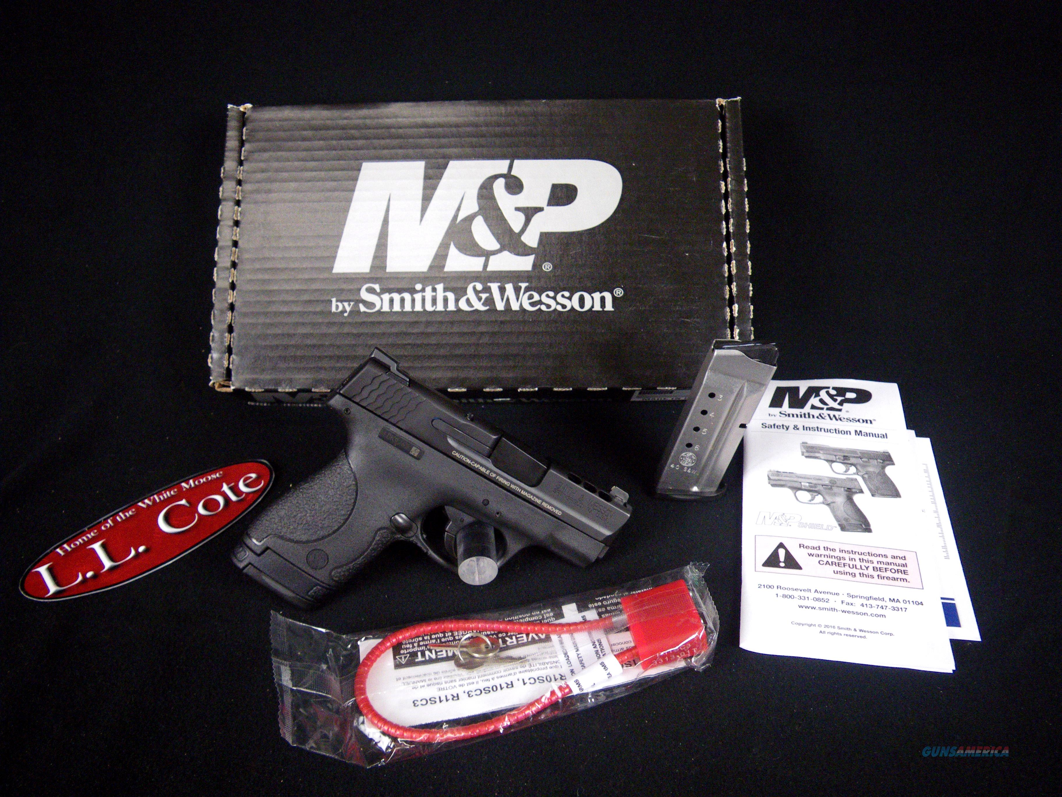 """Smith & Wesson Ported M&P40 Shield 40S&W 3"""" NEW 11631  Guns > Pistols > Smith & Wesson Revolvers > Performance Center"""
