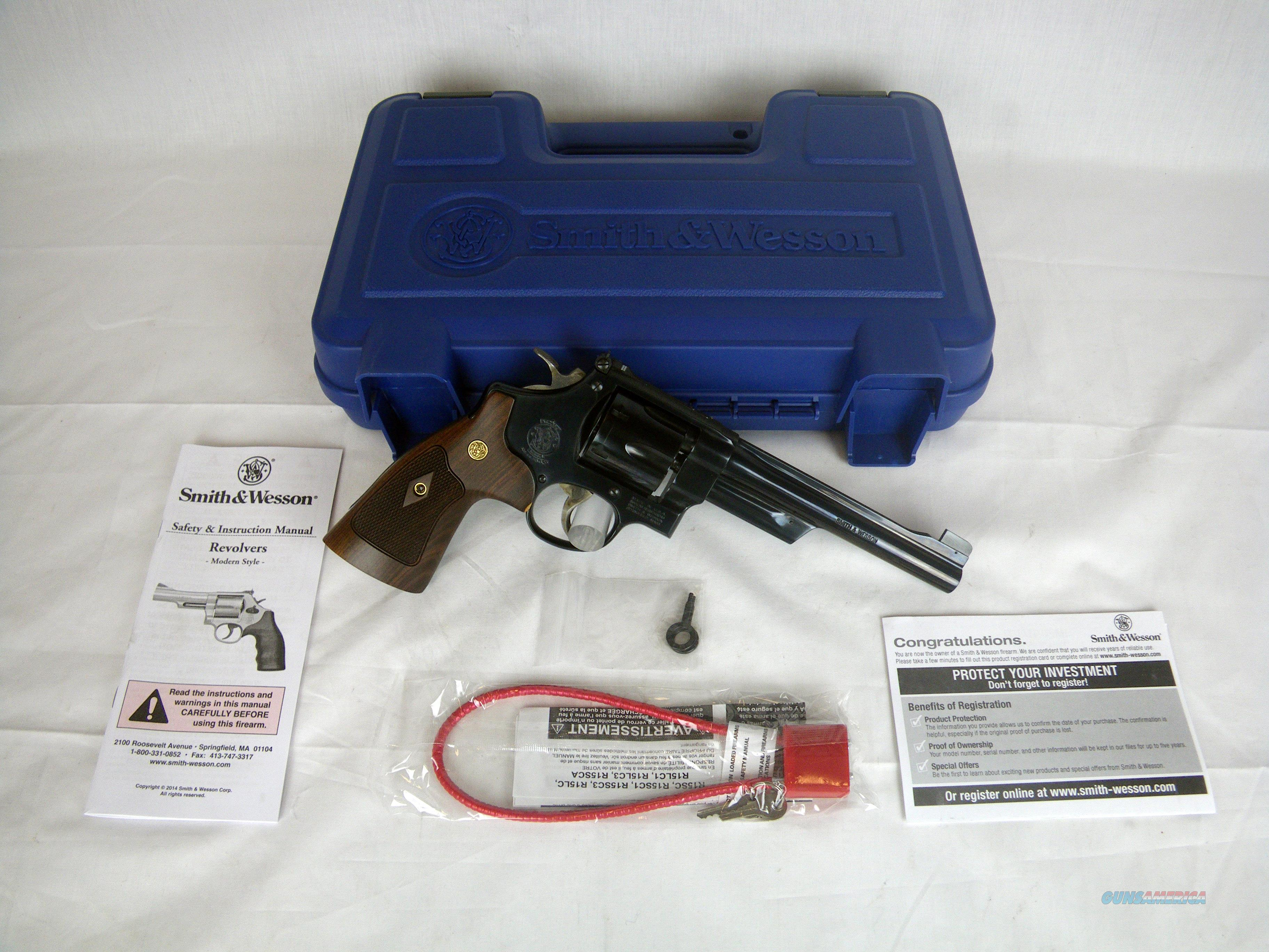 "Smith & Wesson Model 27 Blue/Wood 357 Mag 6.5"" NEW #150341  Guns > Pistols > Smith & Wesson Revolvers > Full Frame Revolver"