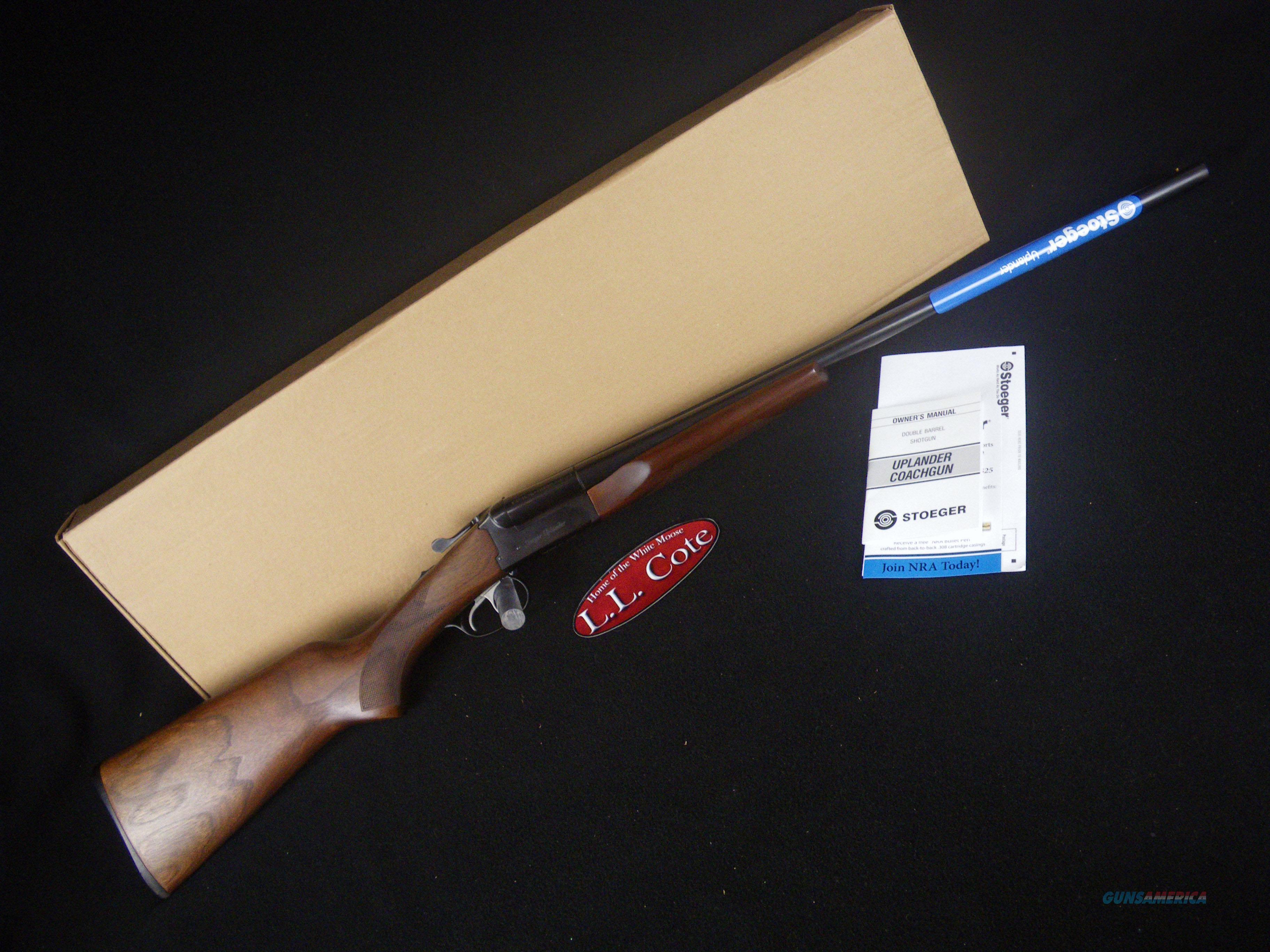 """Stoeger Uplander Field Walnut 12ga 26"""" NEW 31140  Guns > Shotguns > Stoeger Shotguns"""