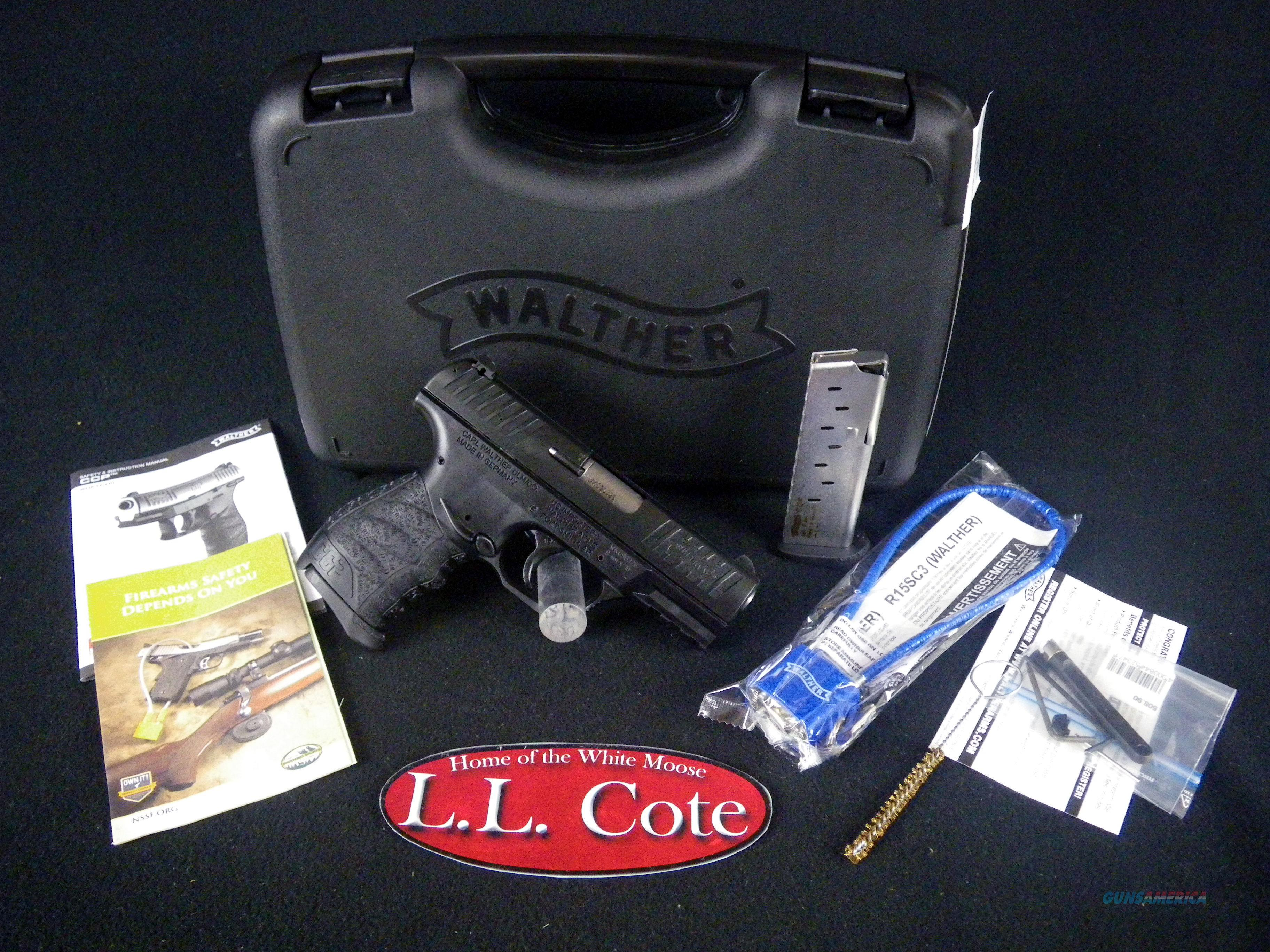 """Walther CCP 9mm 3.54"""" Black/Synthetic NEW 5080300  Guns > Pistols > Walther Pistols > Post WWII > CCP"""
