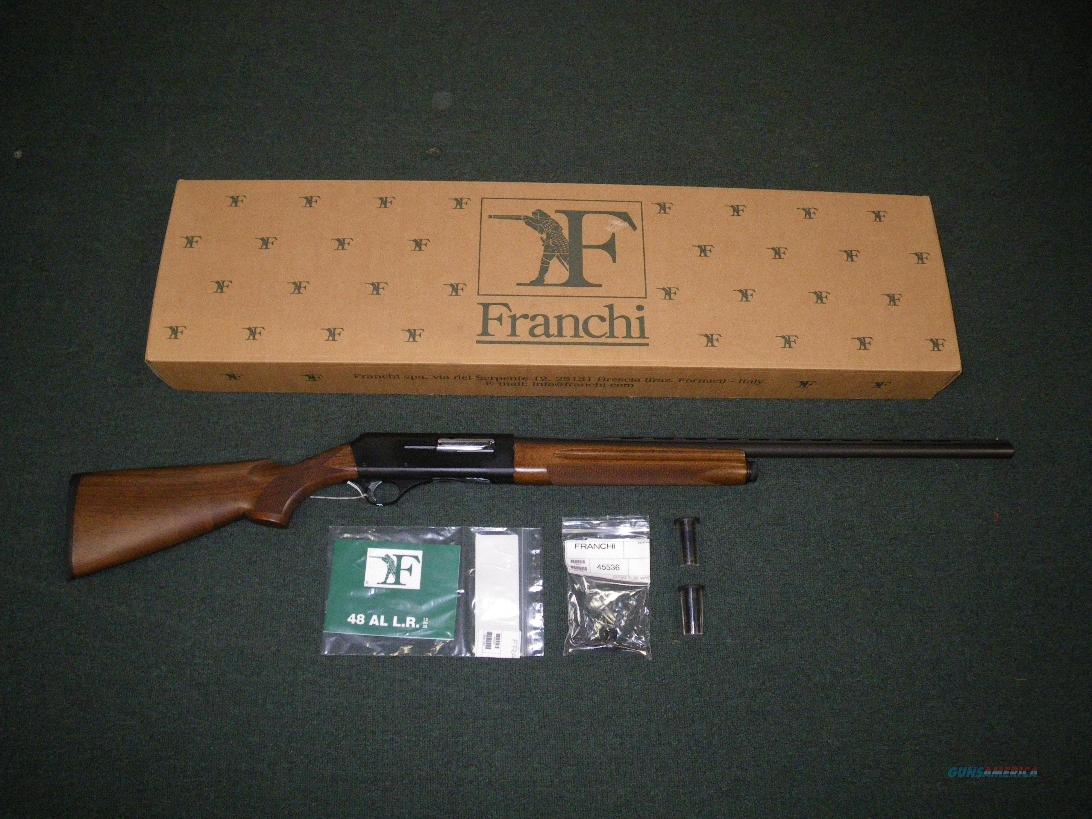 "Franchi 48 AL Wood/Blue 20ga 24"" Semi-Auto #40210  Guns > Shotguns > Franchi Shotguns > Auto/Pump > Hunting"