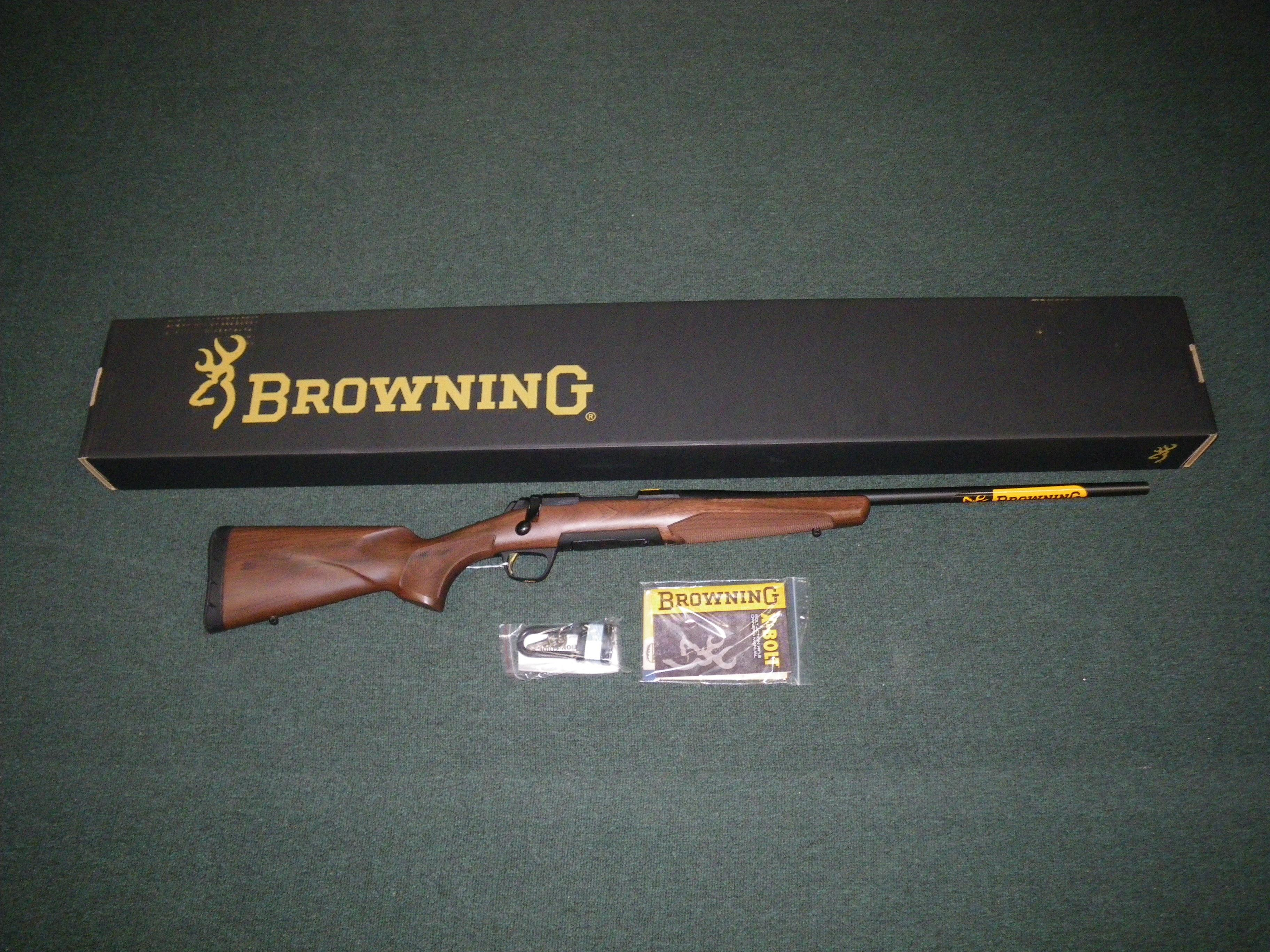 "Browning X-Bolt Micro Hunter 300 WSM 22"" NIB #035215246  Guns > Rifles > Browning Rifles > Bolt Action > Hunting > Blue"