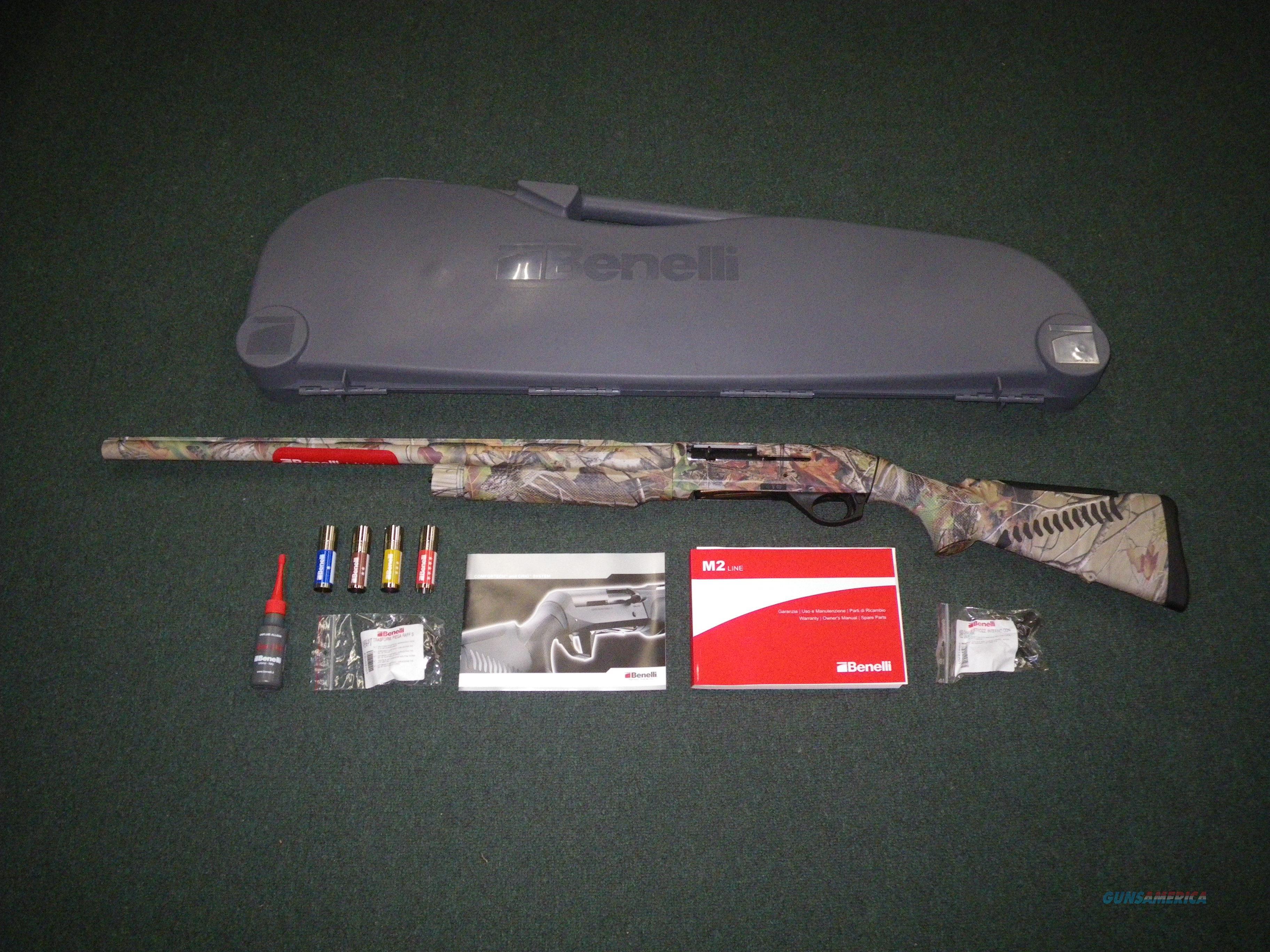 "Benelli M2 Field LH Realtree APG 12ga 26"" NEW 3"" 11127  Guns > Shotguns > Benelli Shotguns > Sporting"