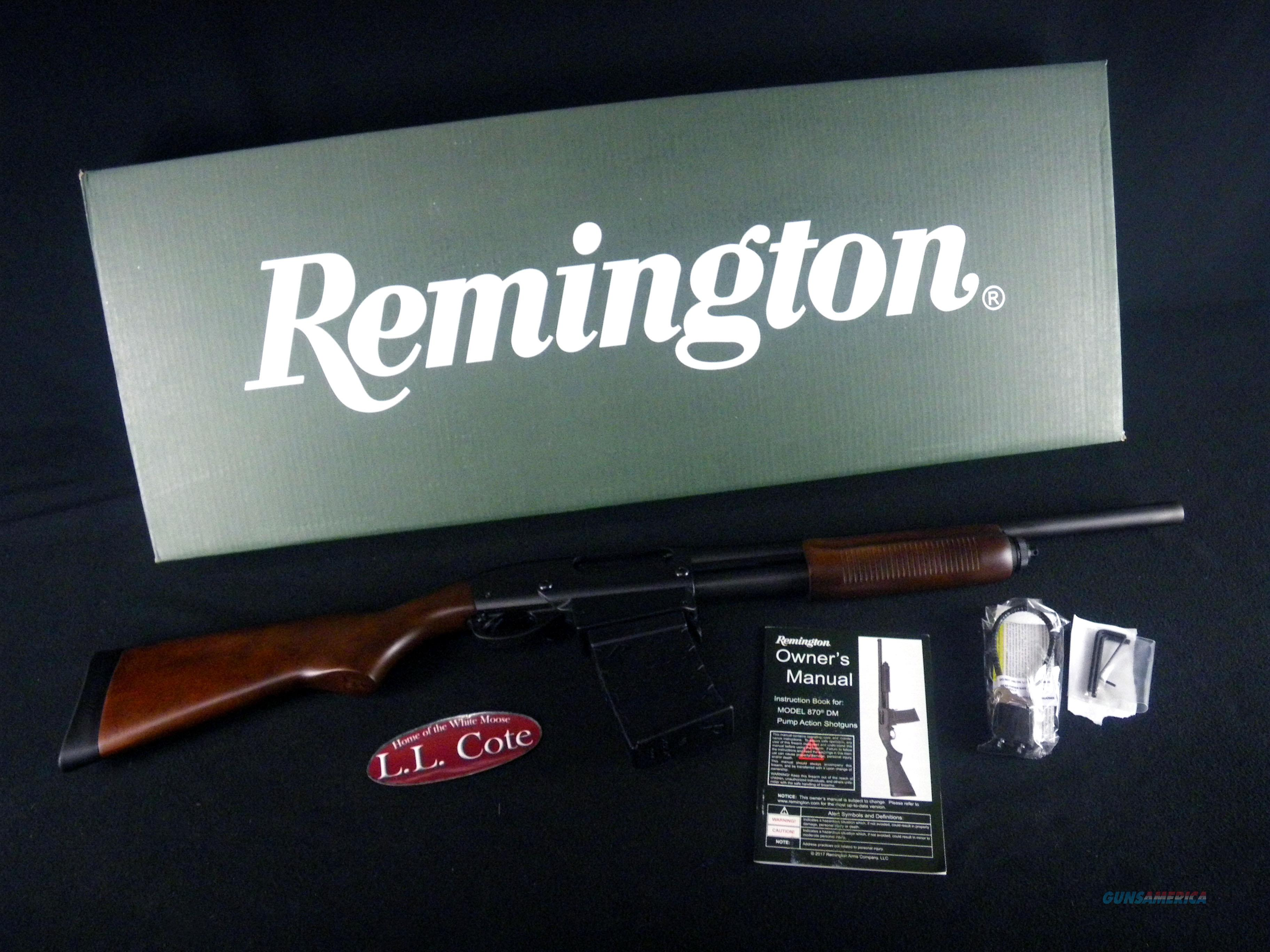"Remington Model 870 DM Hardwood 12ga 18.5"" NEW 3"" 81351  Guns > Shotguns > Remington Shotguns  > Pump > Hunting"