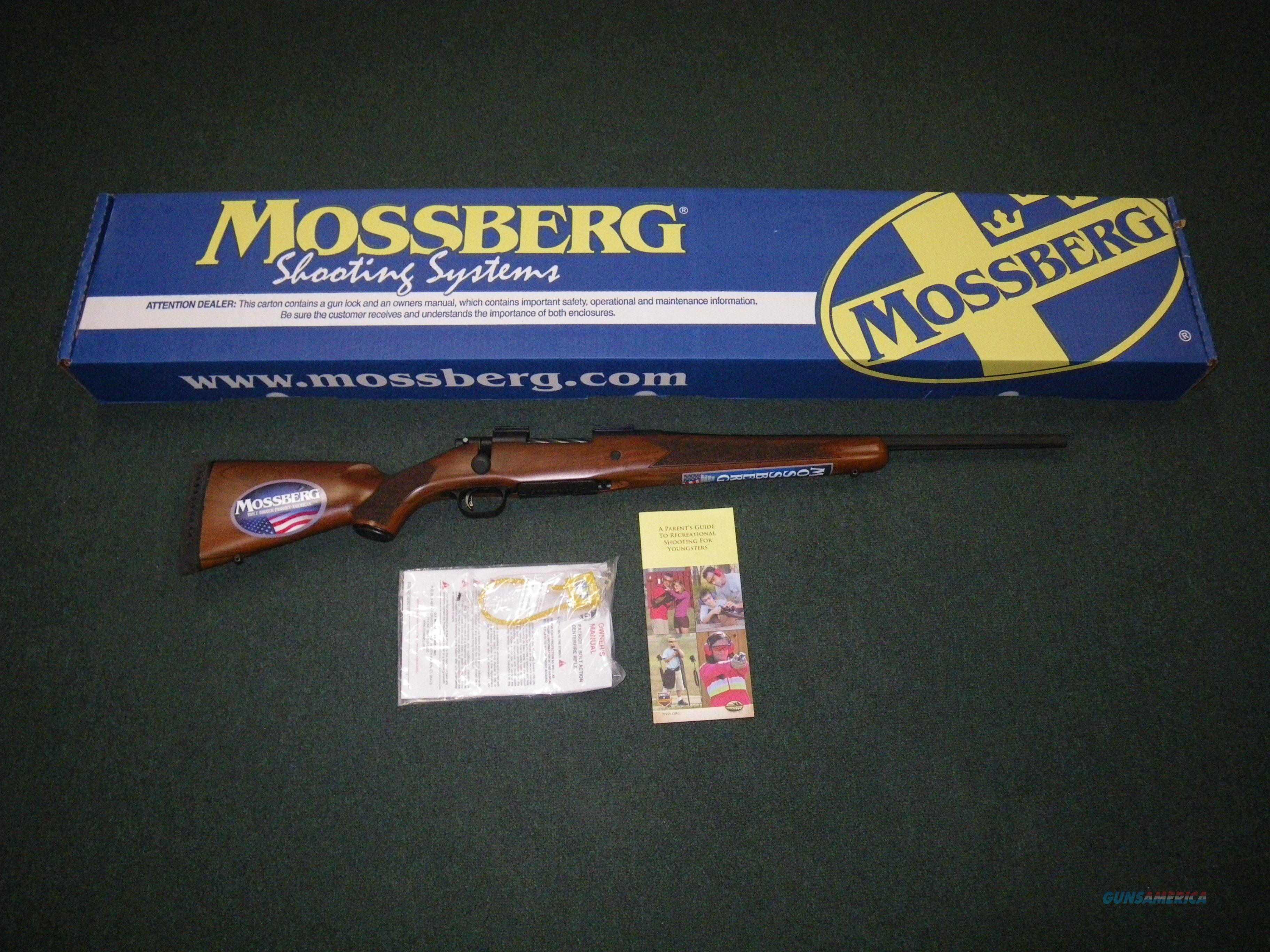 "Mossberg Patriot Youth Bantam Rifle 308 Win 20"" NEW #27862  Guns > Rifles > Mossberg Rifles > Patriot"