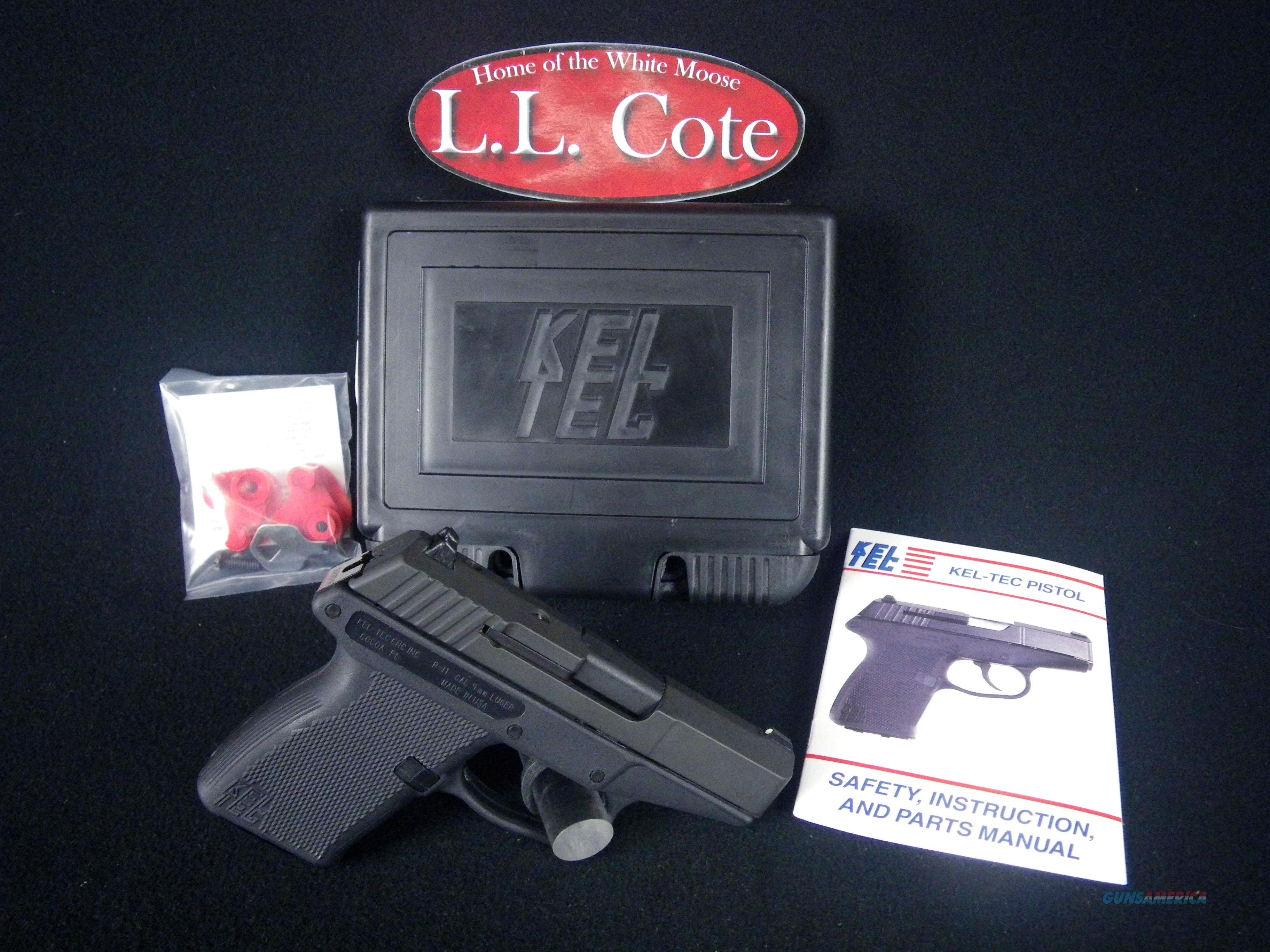"""Kel-Tec P-11 9mm 3.1"""" NEW 10rnd Polymer P11PKBLK  Guns > Pistols > Kel-Tec Pistols > Pocket Pistol Type"""