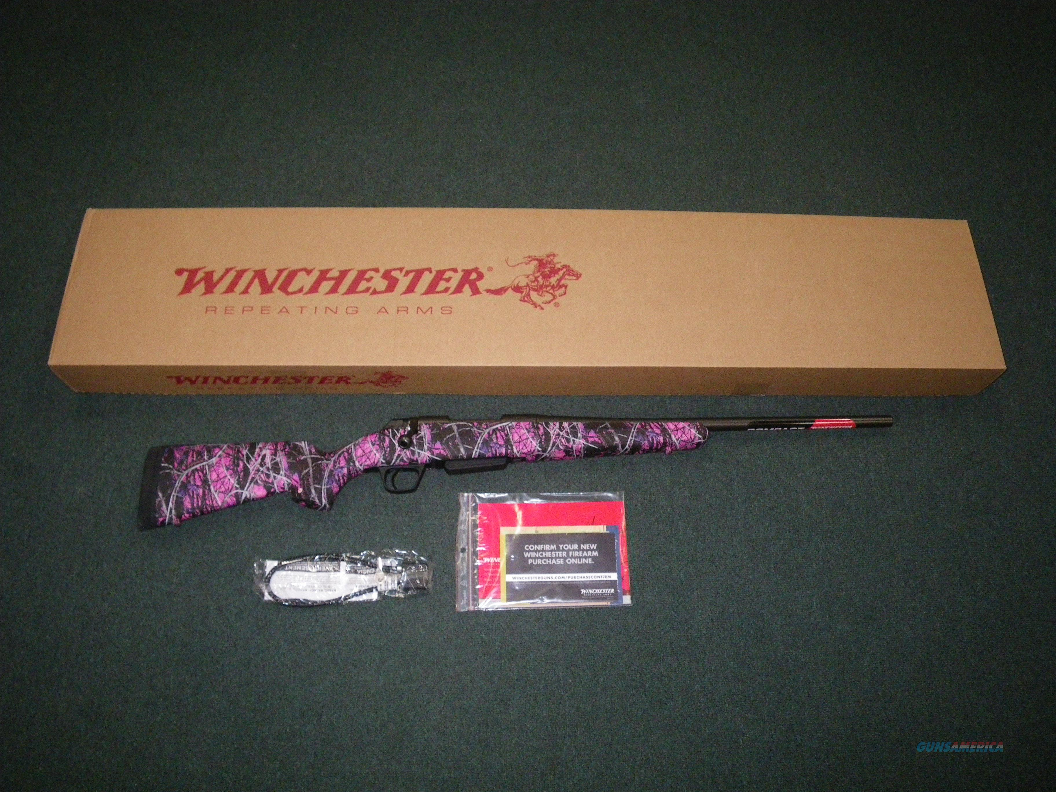 "Winchester XPR Muddy Girl Compact 243 Win 20"" NEW #535712212  Guns > Rifles > Winchester Rifles - Modern Bolt/Auto/Single > Other Bolt Action"