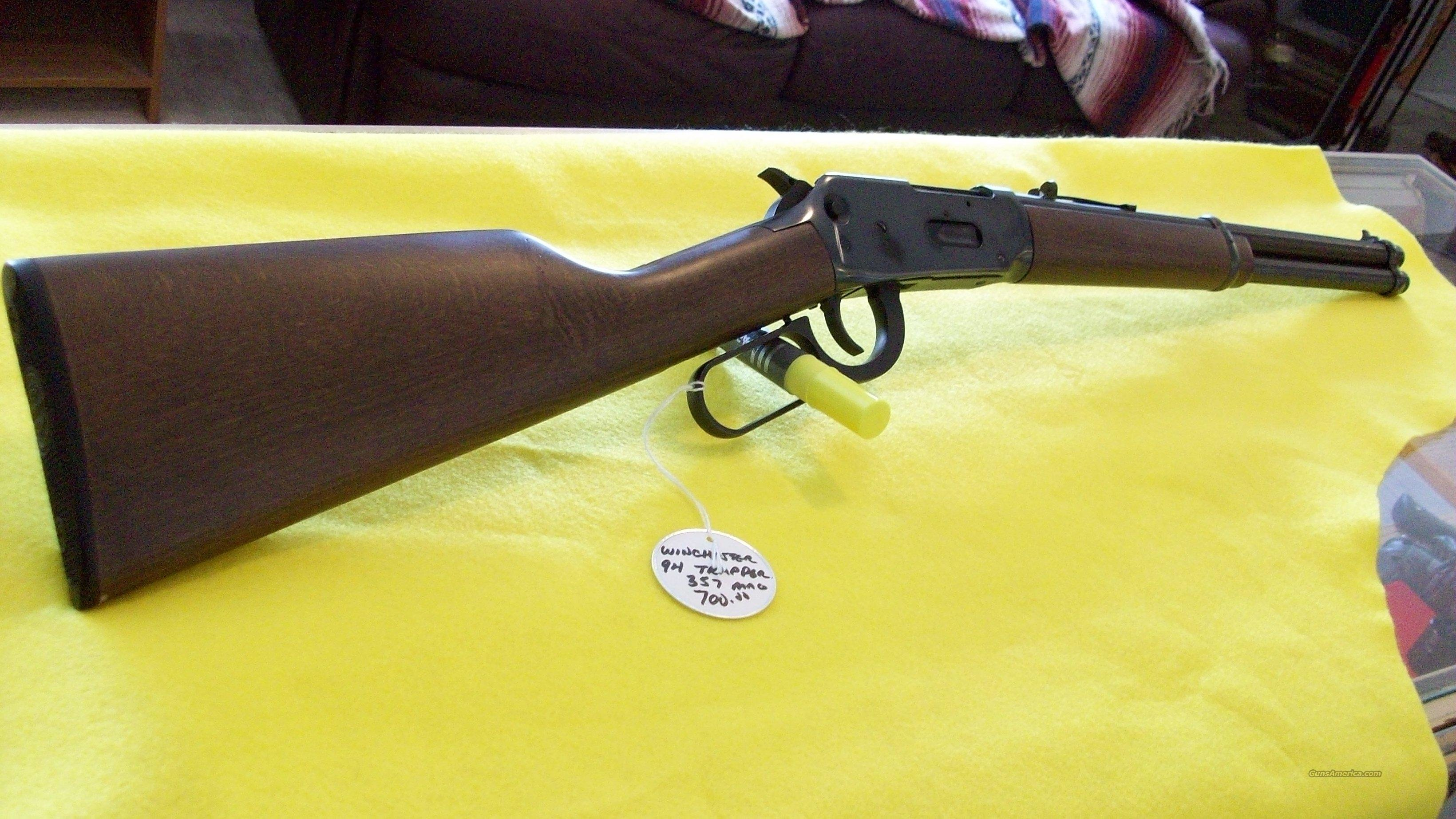 WINCHESTER 94 TRAPPER 357 MAG  Guns > Rifles > Winchester Rifles - Modern Lever > Model 94 > Post-64