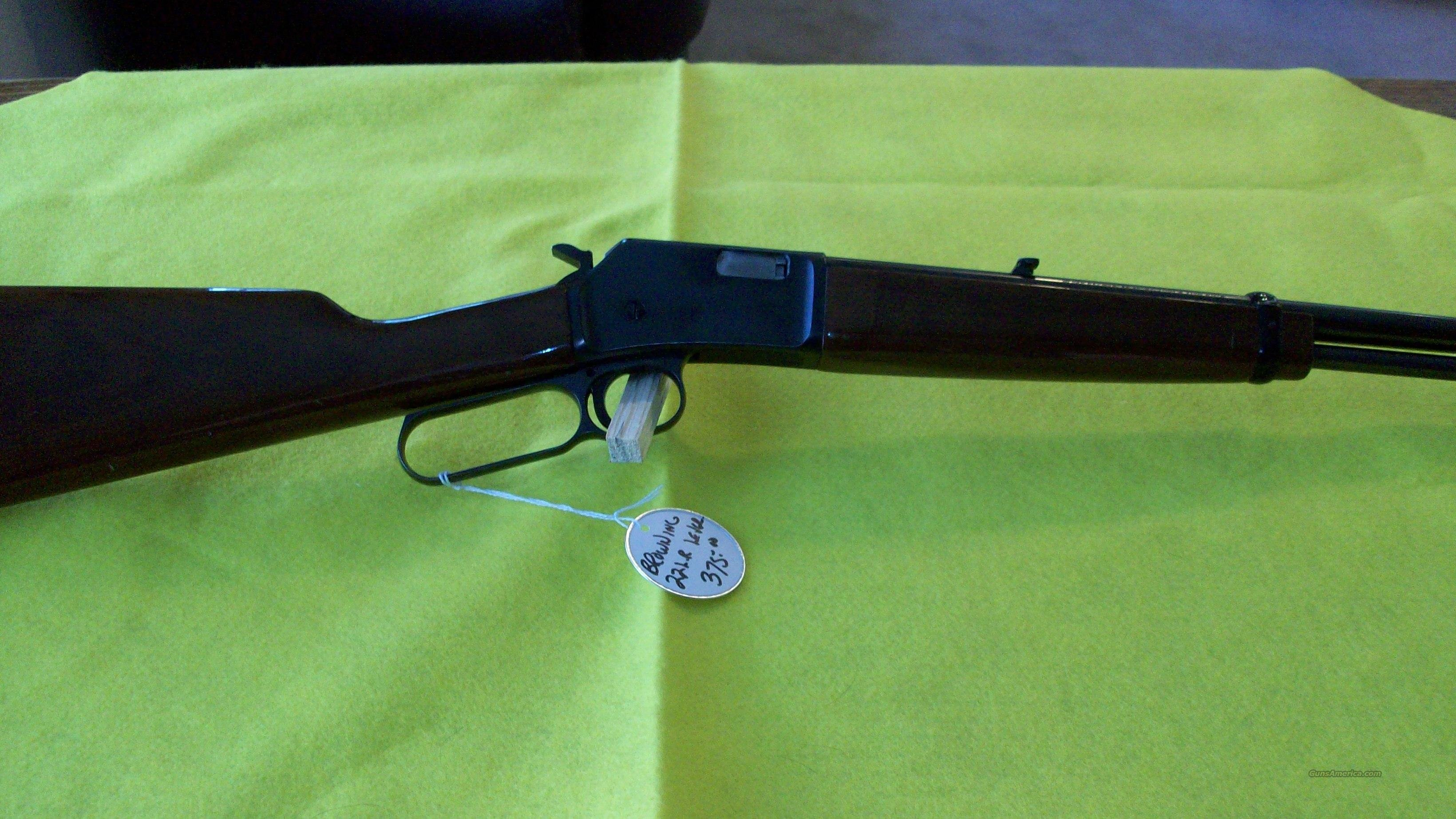 BROWNING LEVER ACTION  Guns > Rifles > Browning Rifles > Lever Action