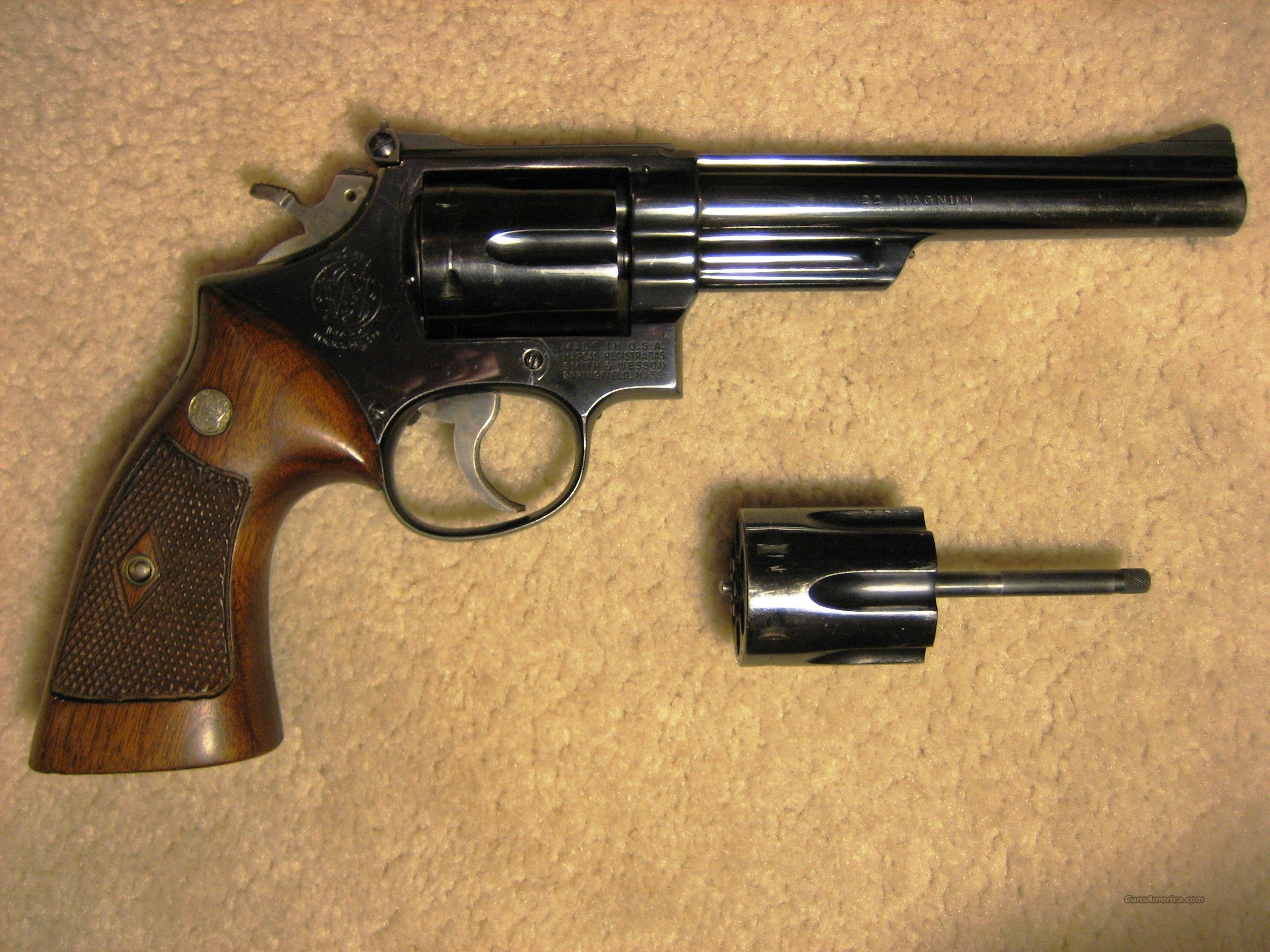 "Smith & Wesson, Mod 53, 22/22 Jet, 6"" BBL  Guns > Pistols > Smith & Wesson Revolvers > Full Frame Revolver"
