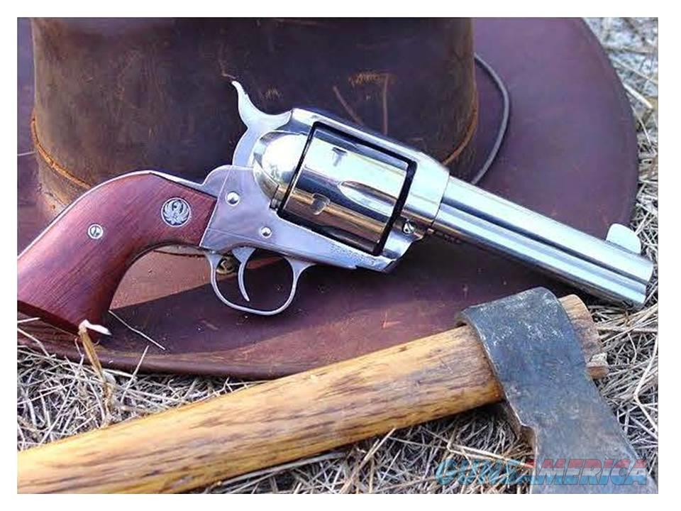 "45 L. Ruger Vaquero 4.5"" S/S  Guns > Pistols > Ruger Single Action Revolvers > Cowboy Action"