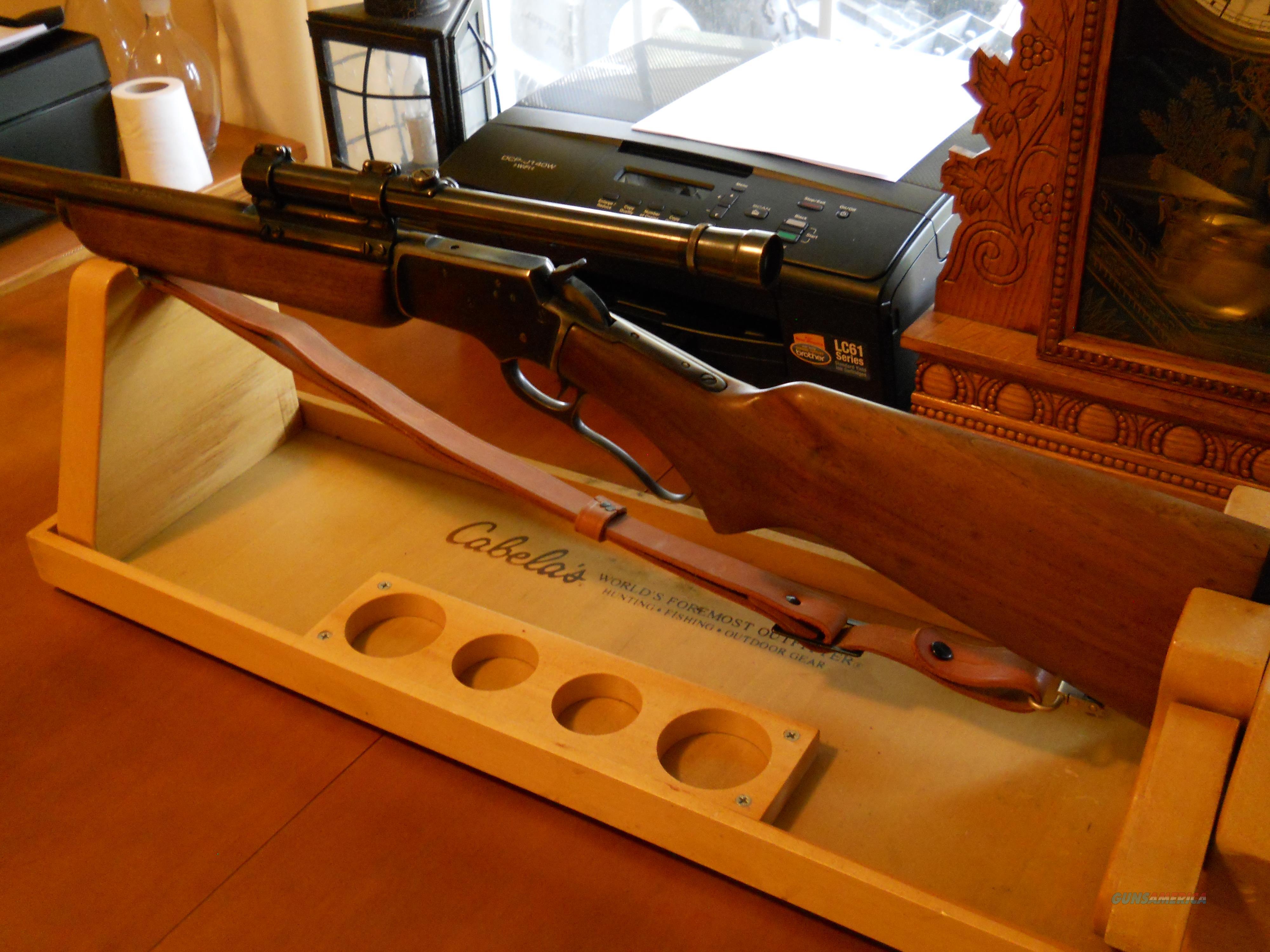 Marlin 39A Golden .22 lever action with marlin sling & Weaver scope  Guns > Rifles > Marlin Rifles > Modern > Lever Action