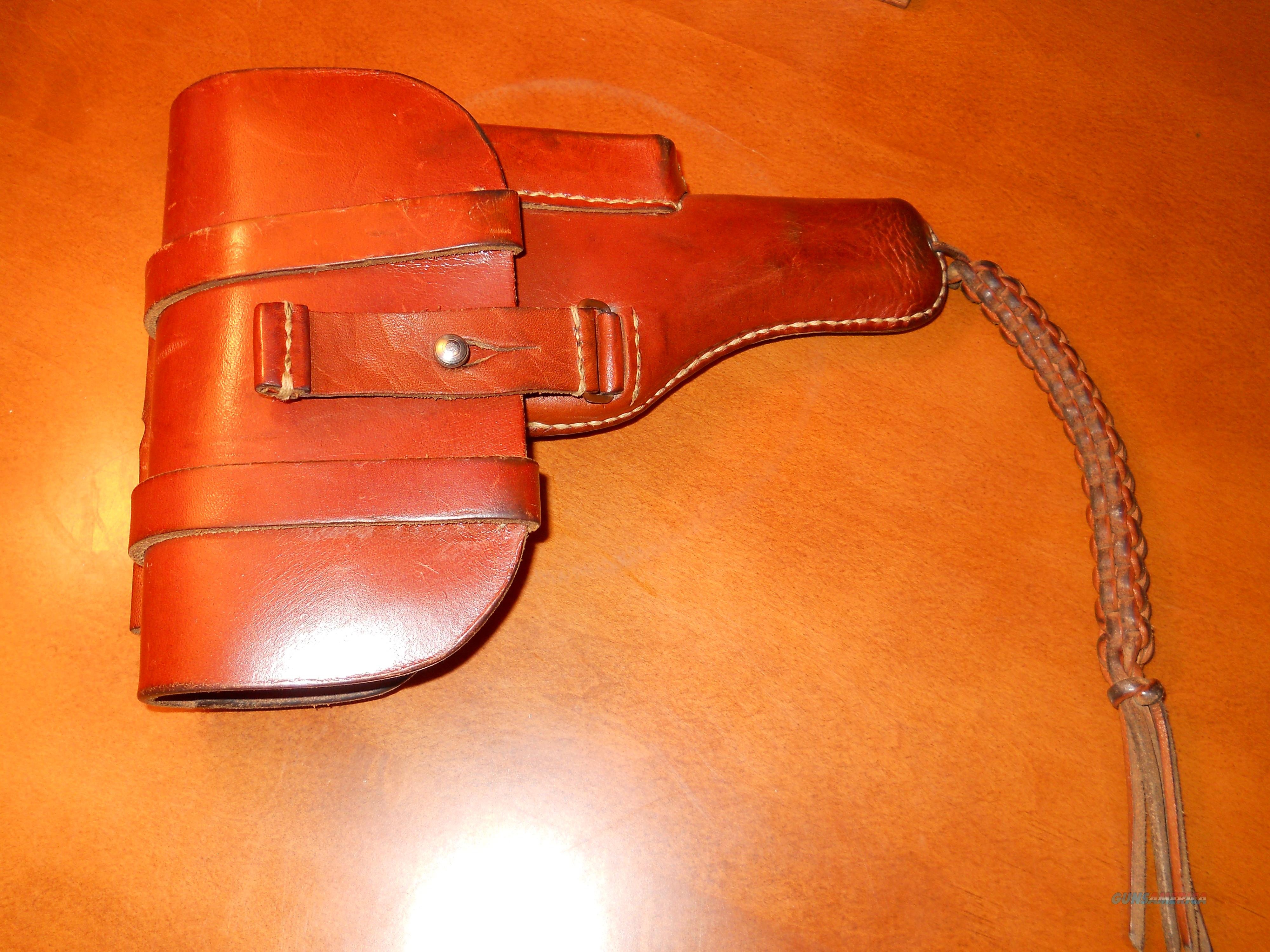 WWII Browning FN 1922 Nazi German Officer Luftwaffe Holster W/Approval marks  Non-Guns > Holsters and Gunleather > Military