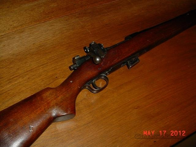 SPRINGFIELD MODEL 1922 TRAINING RIFLE MODELED ON 1903 .22 CALIBER  Guns > Rifles > Springfield Armory Rifles > M1A/M14
