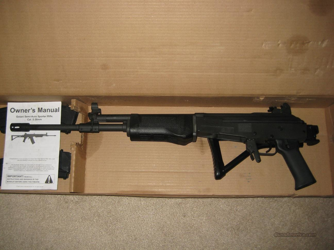 Golani Sporter+++Priced For Quick Sale+++  Guns > Rifles > Galil Rifles
