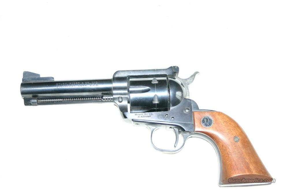 Blackhawk Ruger 357  Guns > Pistols > Ruger Single Action Revolvers > Blackhawk Type