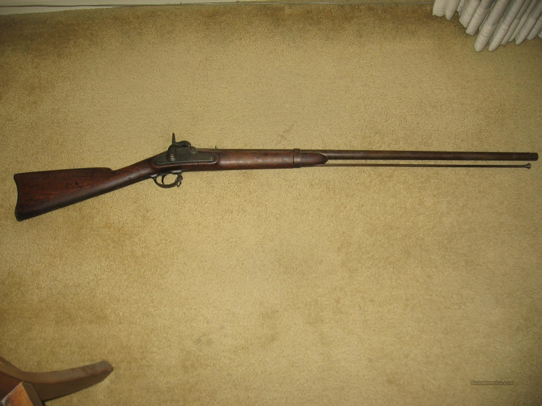 1861 Springfield Foraging Musket---REDUCED $100.  Guns > Rifles > Antique (Pre-1899) Rifles - Perc. Misc.