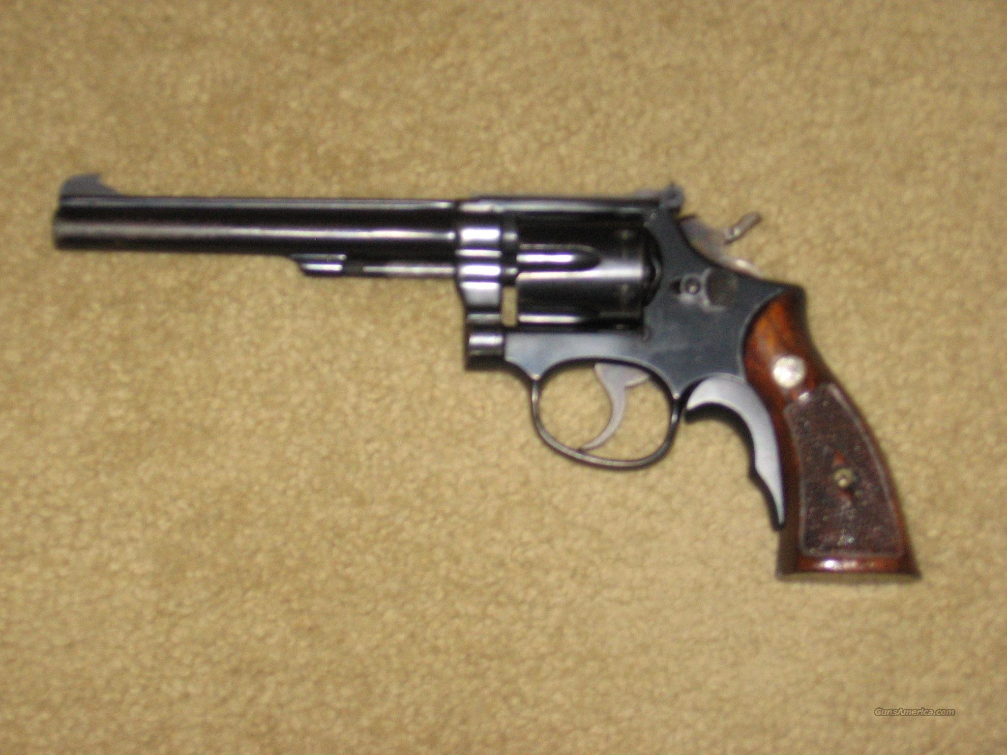 Smith & Wesson K-22, Model 17  Guns > Pistols > Smith & Wesson Revolvers > Full Frame Revolver