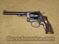 Smith & Wesson K-22, Model 17  Smith & Wesson Revolvers > Full Frame Revolver