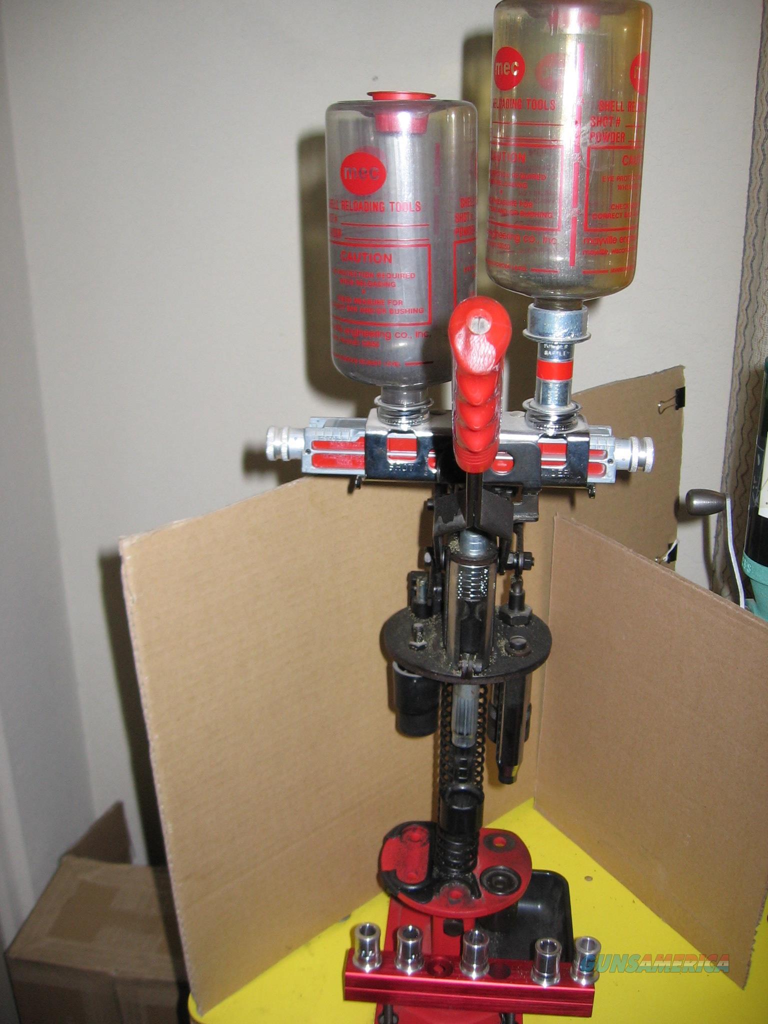 MEC 600 Jr Mark 5 12 ga Shotshell Reloader  Non-Guns > Reloading > Equipment > Shotshell > Presses