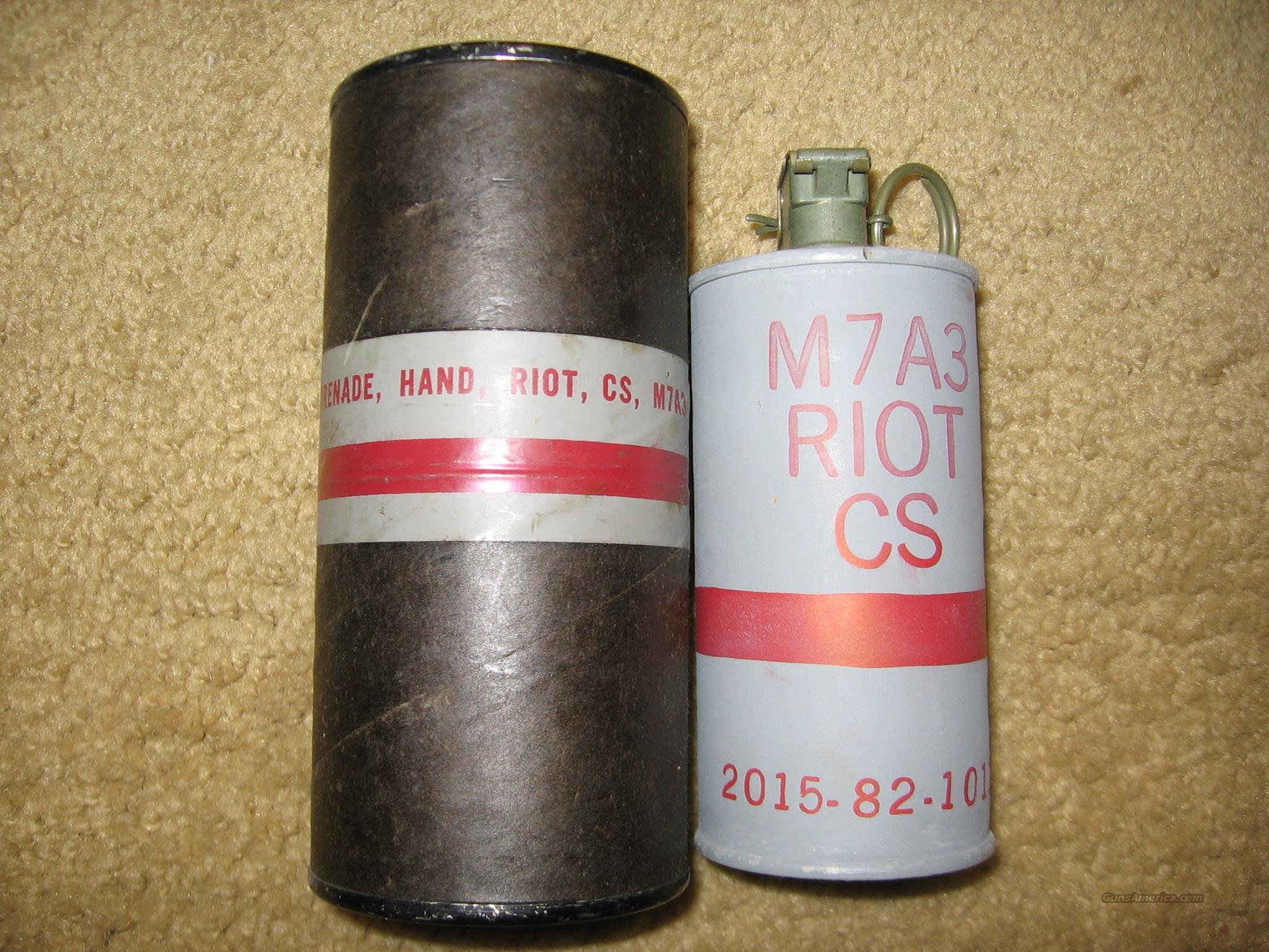 M7A3 CS Grenade  Non-Guns > Collectible Cartridges