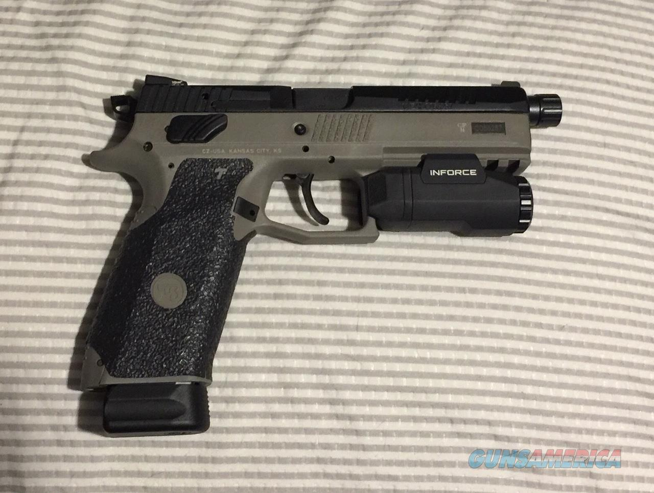 CZ P-09 P09 UG Urban Grey CGW Cajun Gun Works  Guns > Pistols > CZ Pistols