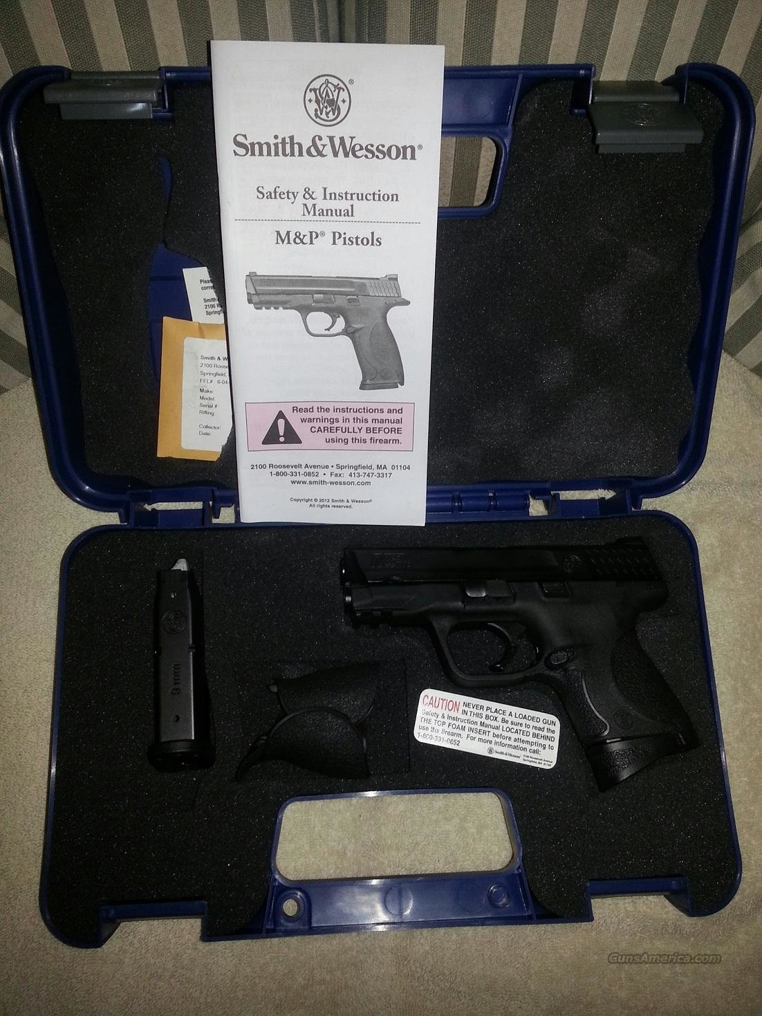 S&W M&P 9c  Guns > Pistols > Smith & Wesson Pistols - Autos > Polymer Frame