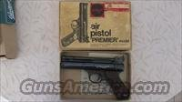 Webley premier air pistol  Non-Guns > Air Rifles - Pistols > Vintage