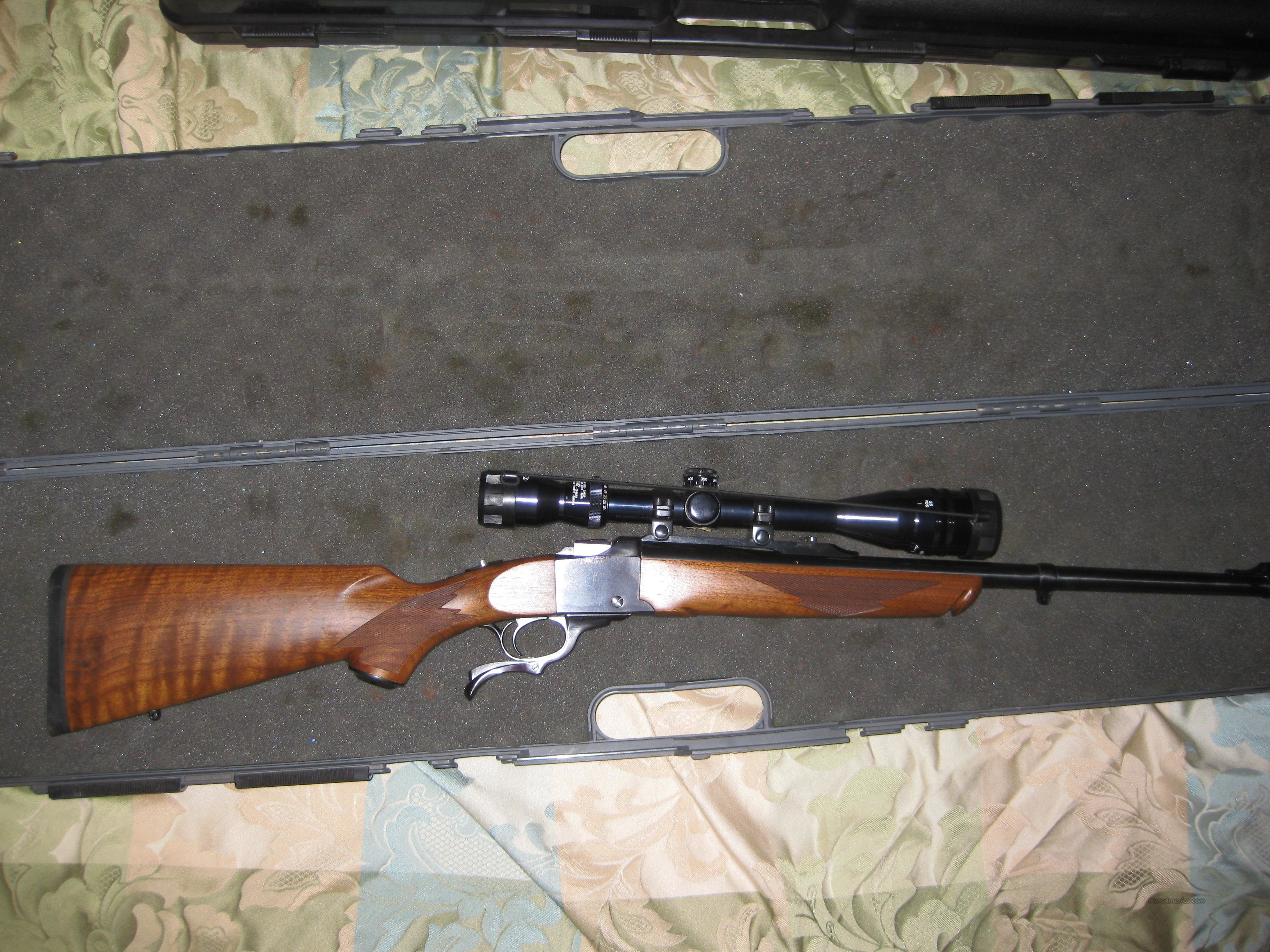 RUGER NUMBER 1 RIFLE 45-70 WITH SCOPE  Guns > Rifles > Ruger Rifles > #1 Type
