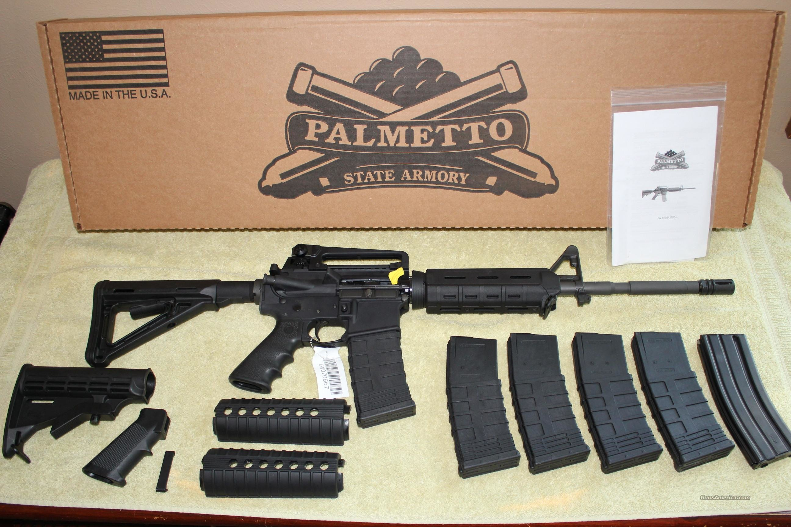 Palmetto State Armory (PSA) Magpul Upgrades  Guns > Rifles > AR-15 Rifles - Small Manufacturers > Complete Rifle