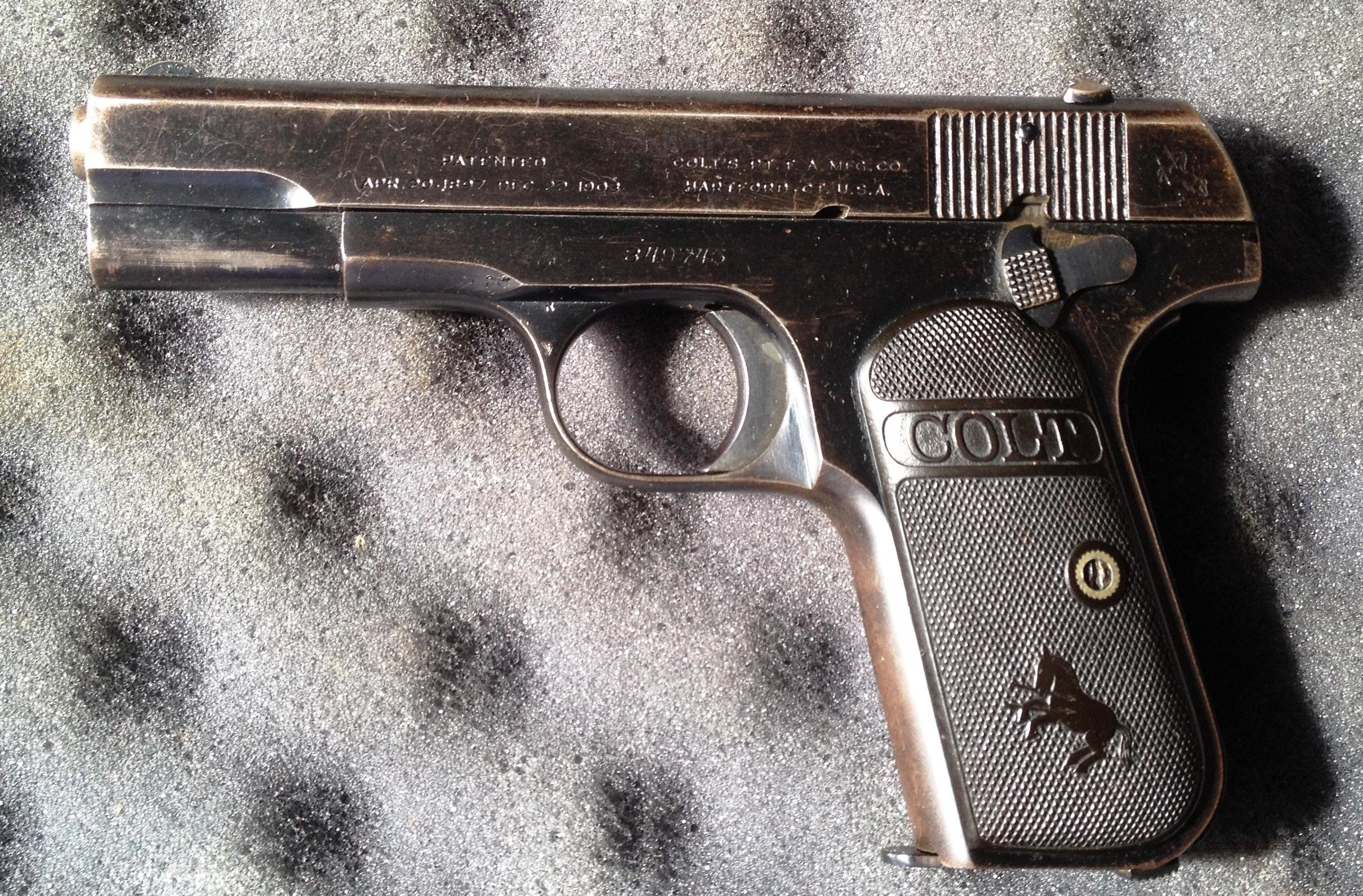 Colt 1903 POCKET (MODEL M .32 ACP)  Guns > Pistols > Colt Automatic Pistols (.25, .32, & .380 cal)