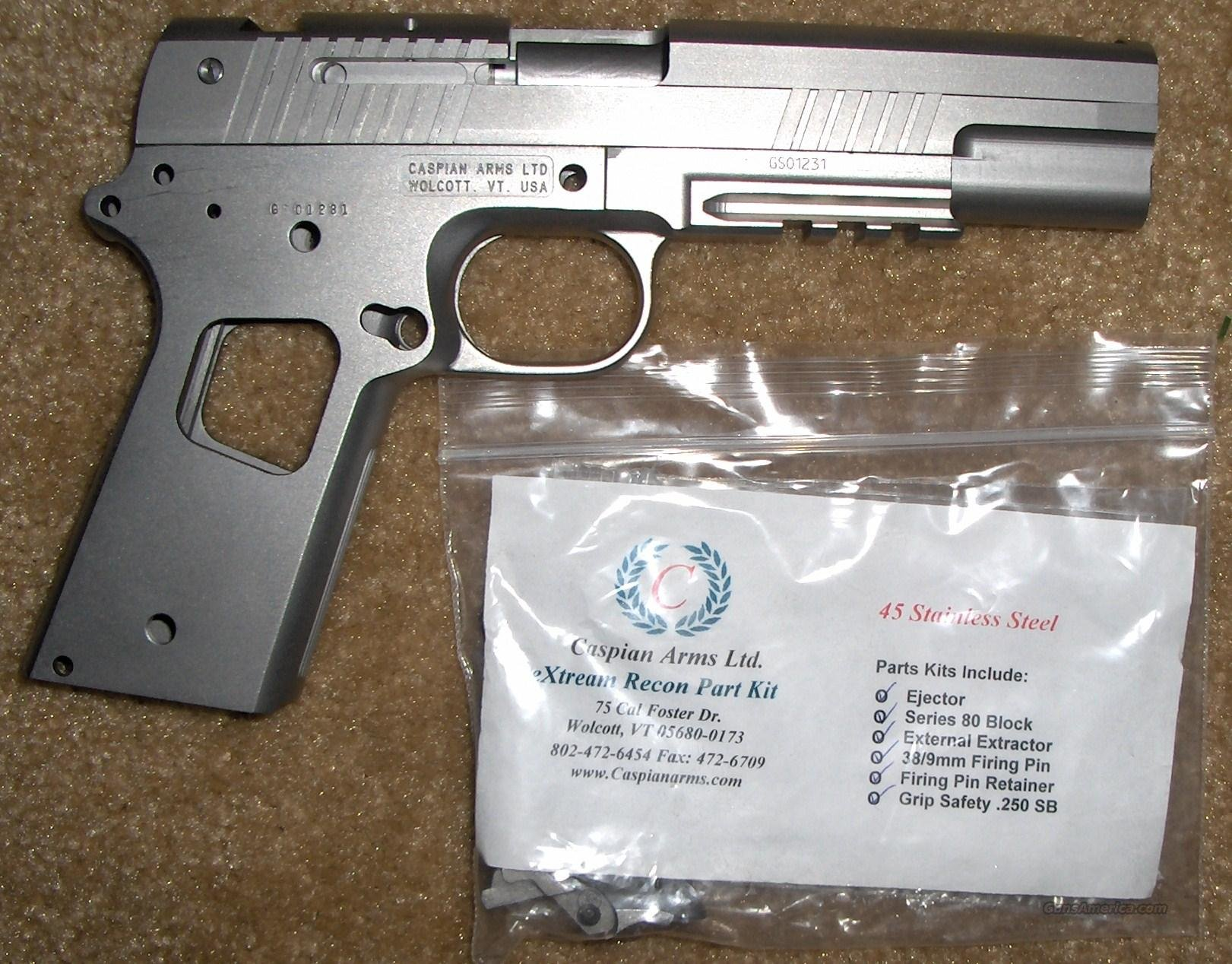 Caspian Recon 1911 Frame Kit for sale