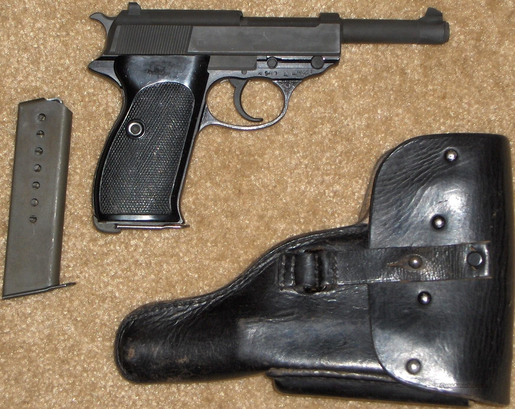 Walther P38 P1 Kal 9mm  Guns > Pistols > Walther Pistols > Post WWII > Large Frame Autos