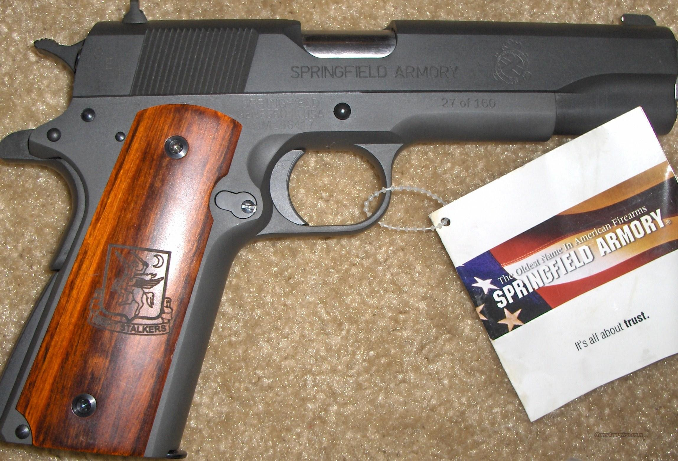 Nightstalker 1911A1 Limited Edition  Guns > Pistols > Springfield Armory Pistols > 1911 Type