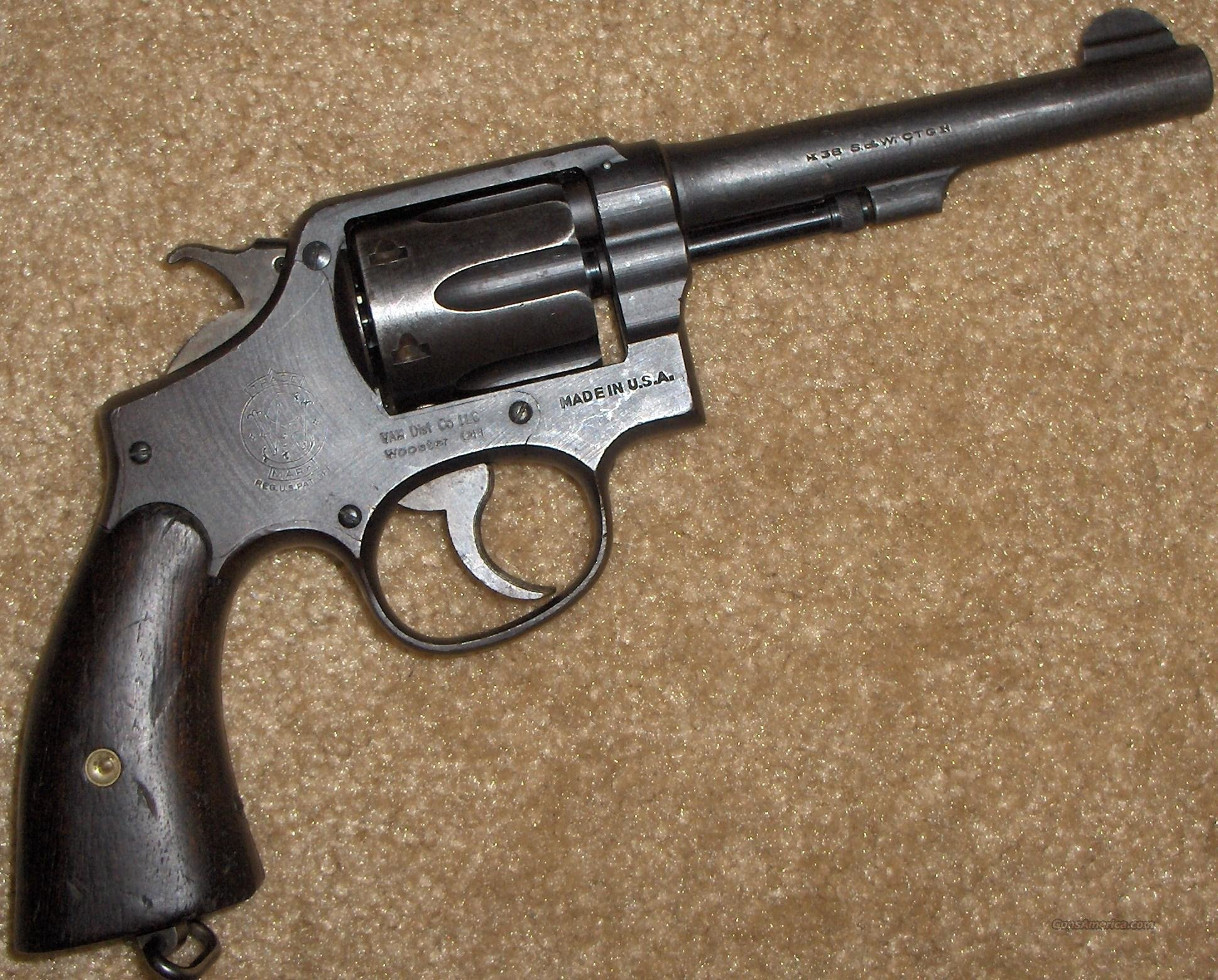 S&W Victory 38 Caliber Revolver US Army Ordnance Markings  Guns > Pistols > Smith & Wesson Revolvers > Pre-1945