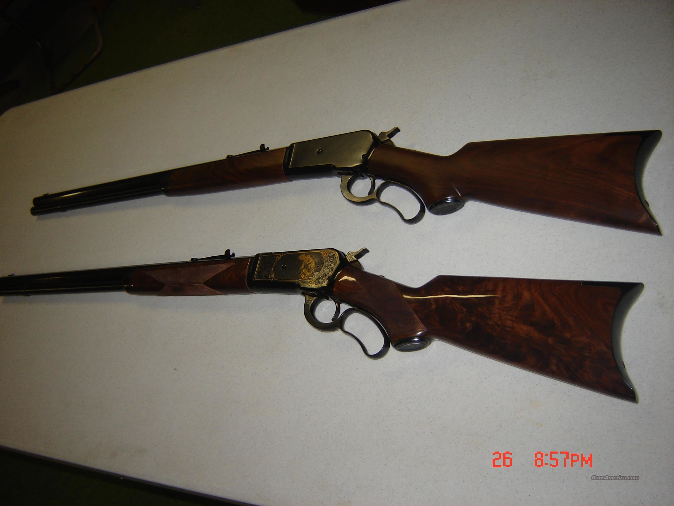Winchester 1886  -  63  set  Guns > Rifles > Winchester Rifles - Modern Lever > Other Lever > Post-64