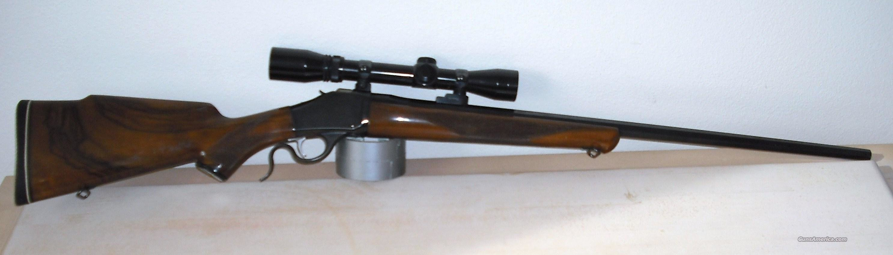 BROWNING MOD 78, 6MM REM, W/SCOPE  Guns > Rifles > Browning Rifles > Singe Shot