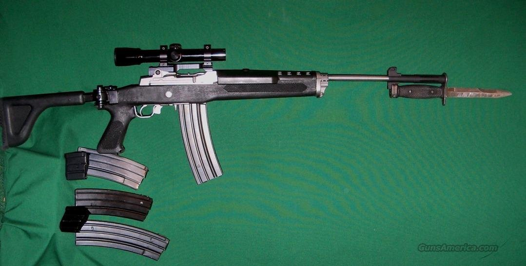 RUGER MINI 14 SS TACTICAL   Guns > Rifles > Ruger Rifles > Mini-14 Type