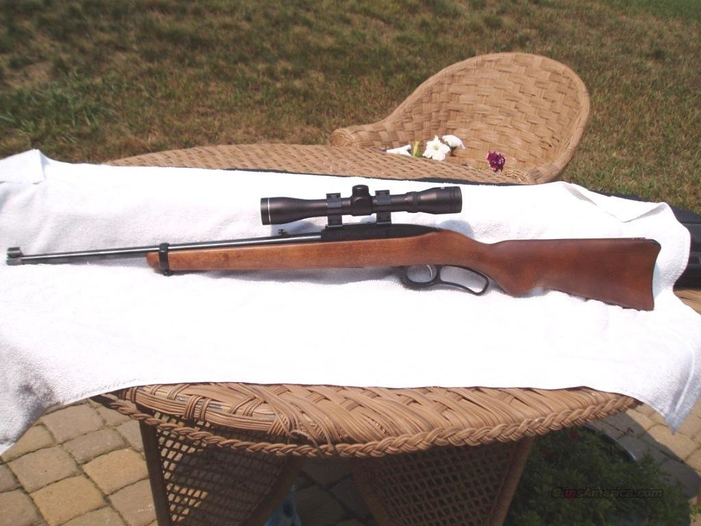 Ruger 96 Lever Action .22 long rifle  Guns > Rifles > Ruger Rifles > Lever Action