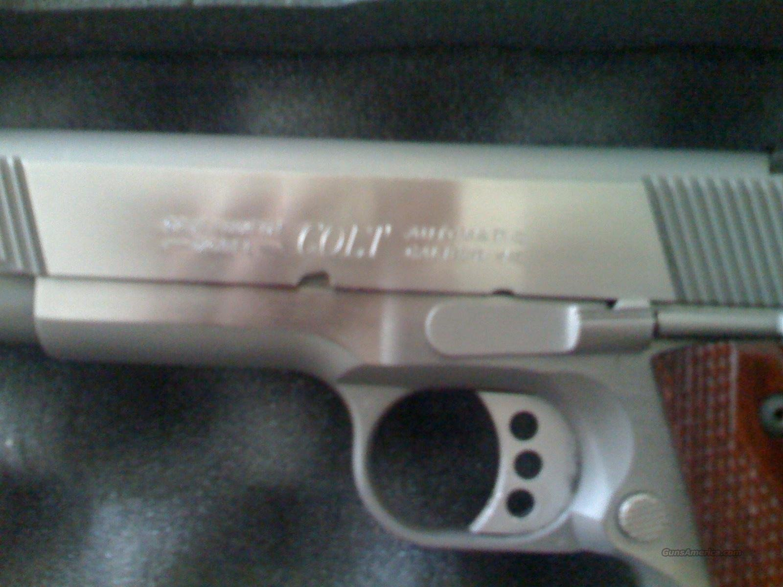 COLT 45 STAINLESS model 01070xse Ca Approved  Guns > Pistols > Colt Automatic Pistols (1911 & Var)