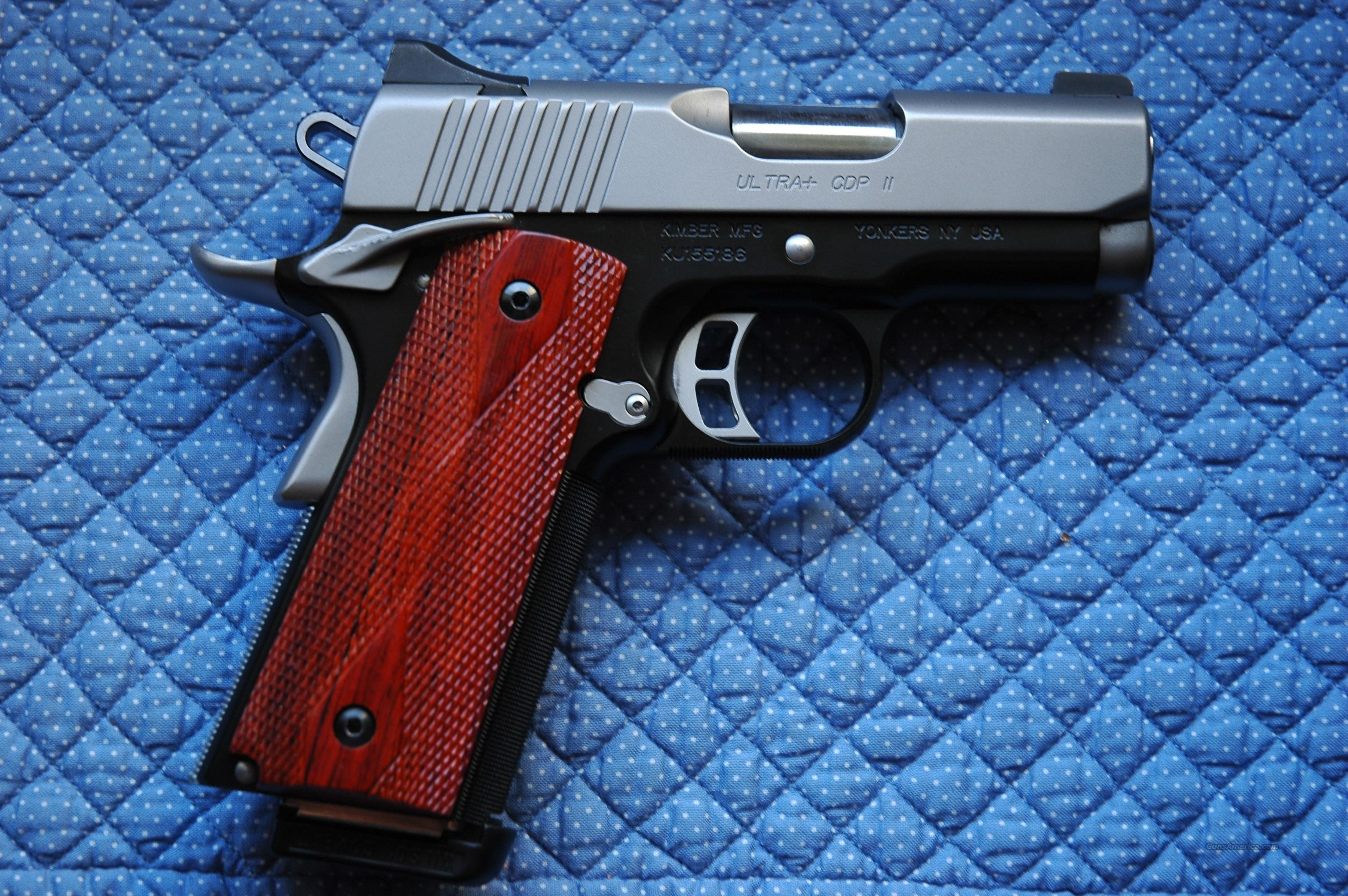 Kimber ultra+ plus 1911 full frame compact slide  Guns > Pistols > Kimber of America Pistols