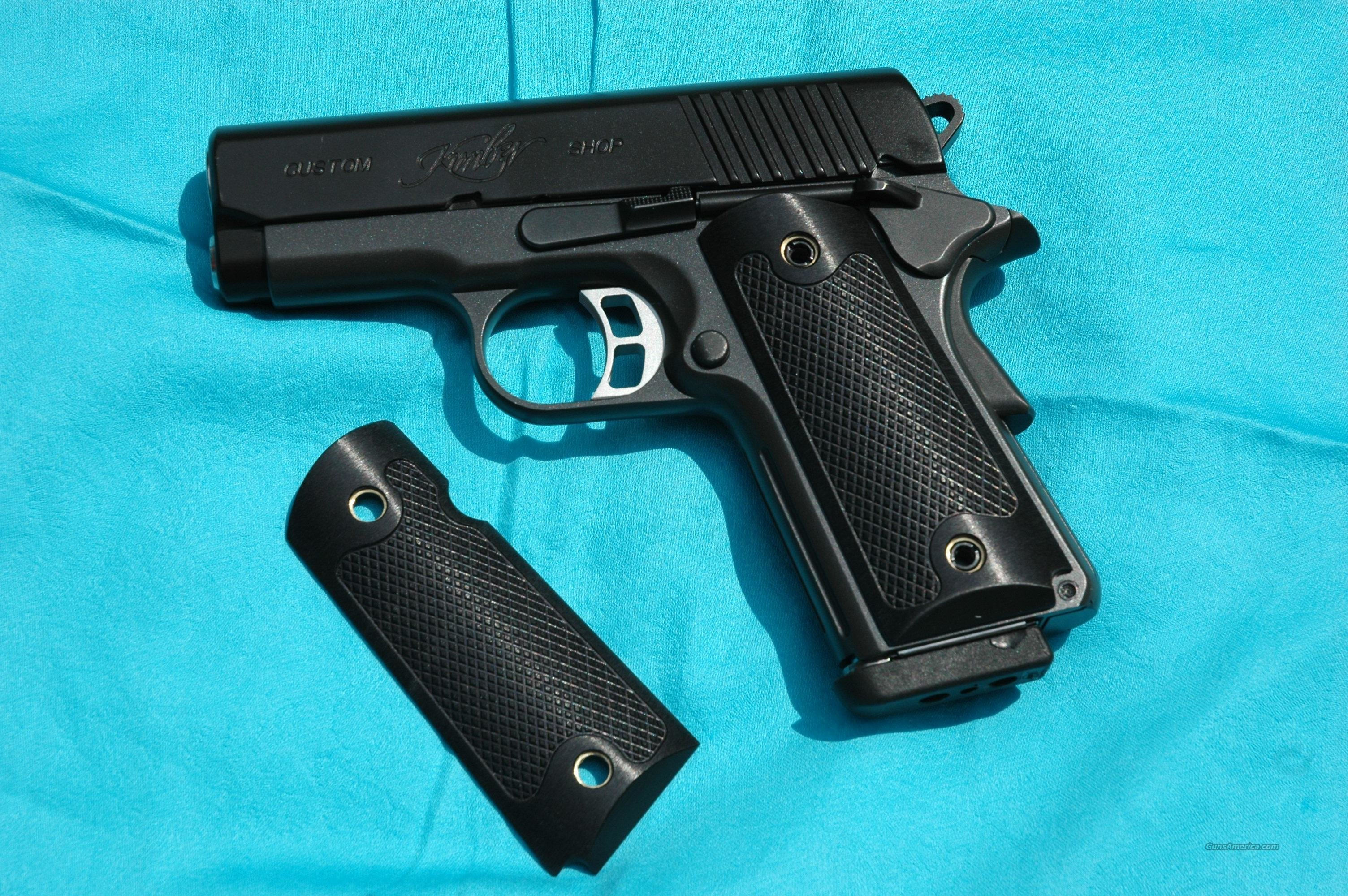 1911 compact black aluminum grips gorgeous   Non-Guns > Gun Parts > Grips > 1911