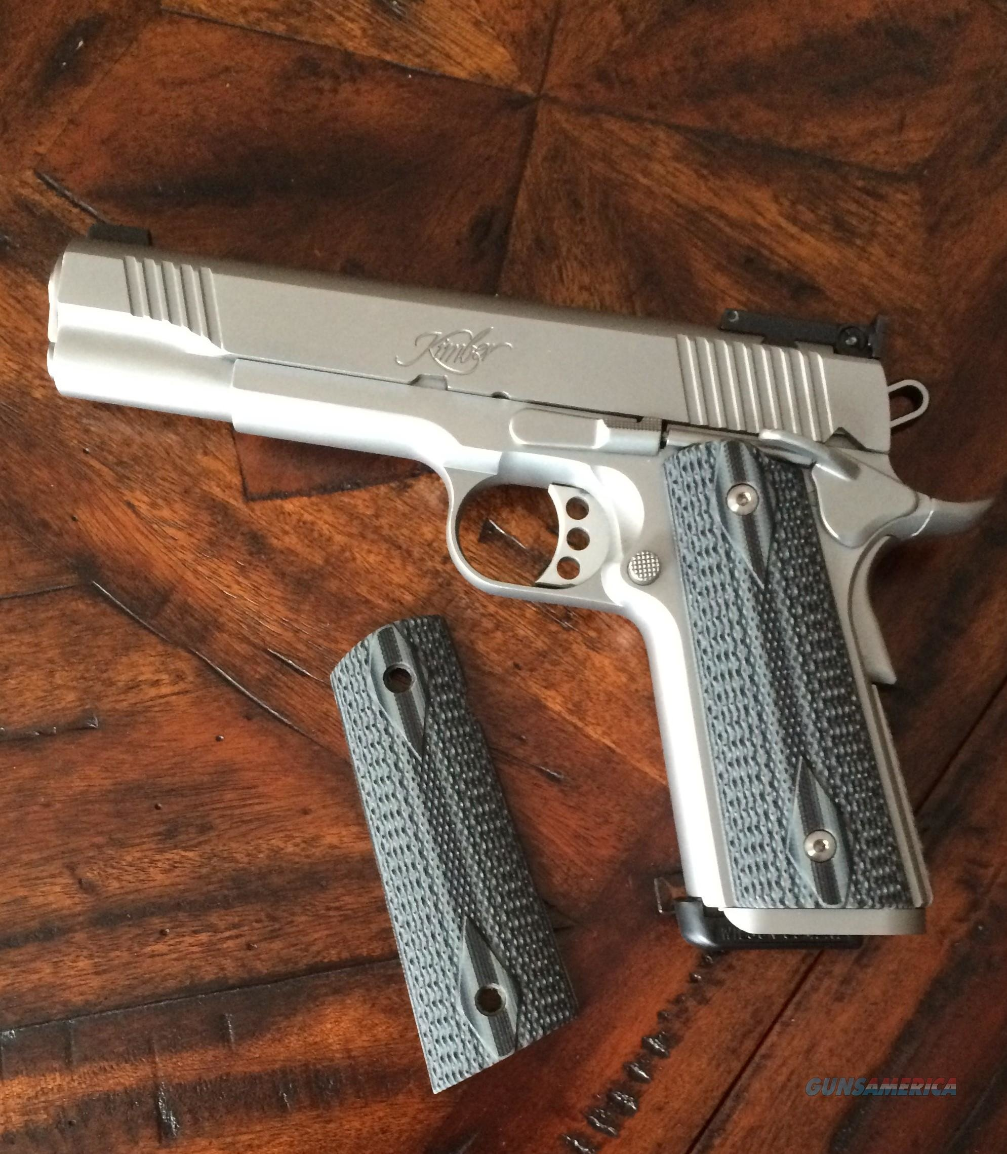 VZ 1911 black/gray double diamond magwell   Non-Guns > Gunstocks, Grips & Wood