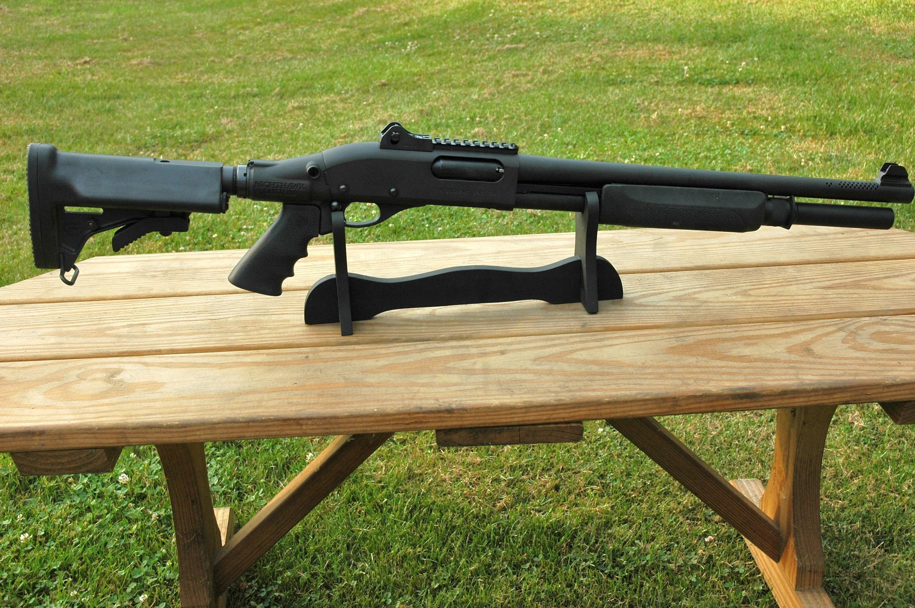 Nighthawk Custom 870 pump 12 gauge  Guns > Shotguns > Wilson Combat Shotguns