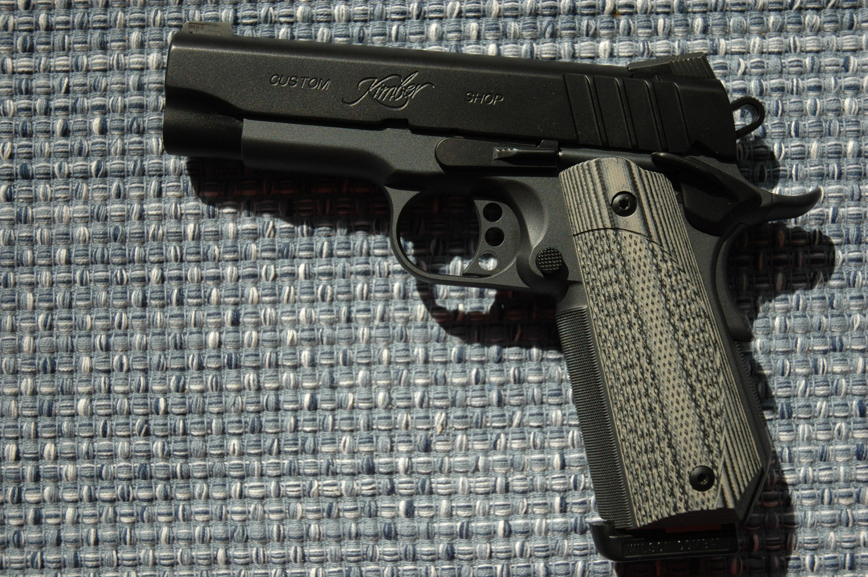 VZ 1911 bobtail ETC black/gray VZ G10   Non-Guns > Gunstocks, Grips & Wood