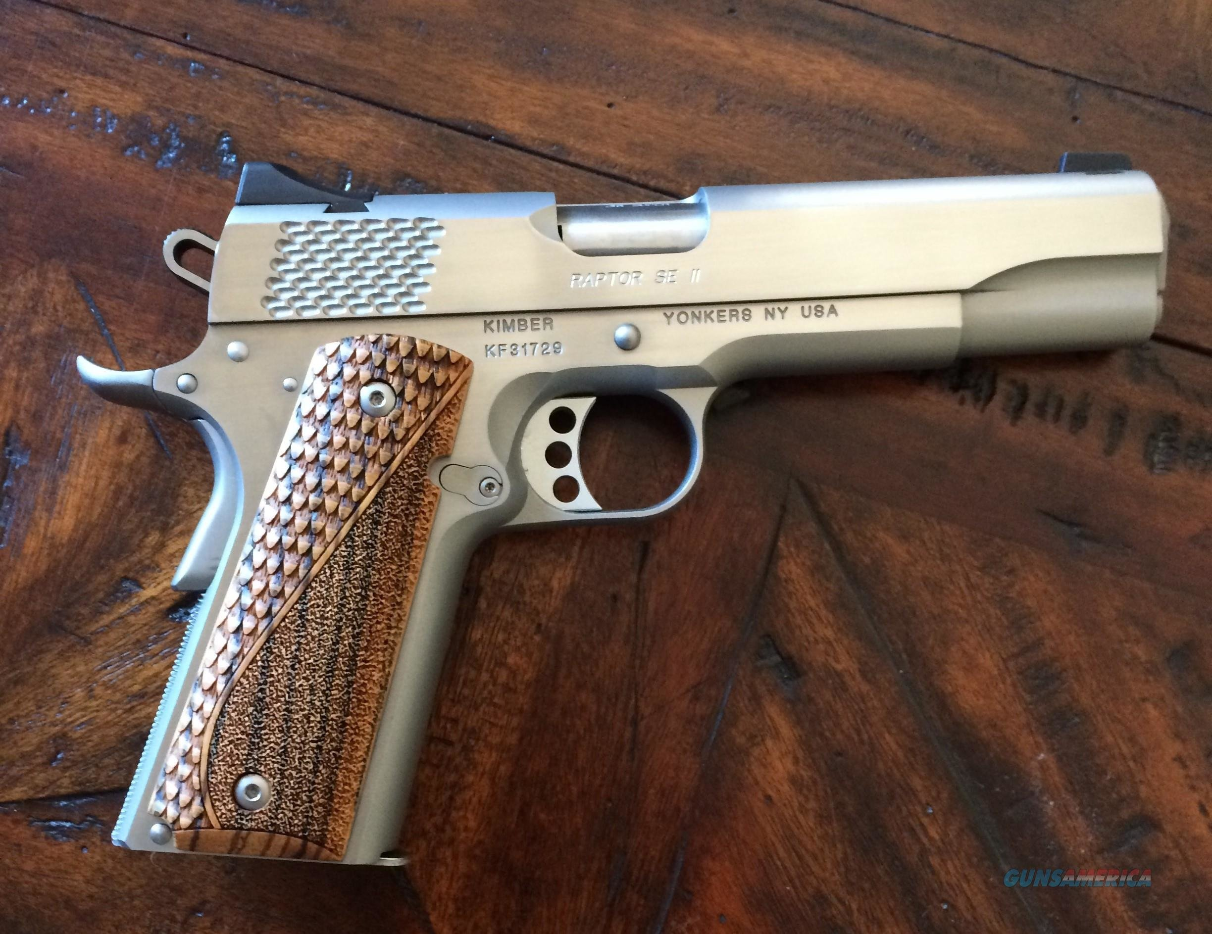 Kimber Custom Shop Special Edition II 1of50 new release 38 super  Guns > Pistols > Kimber of America Pistols