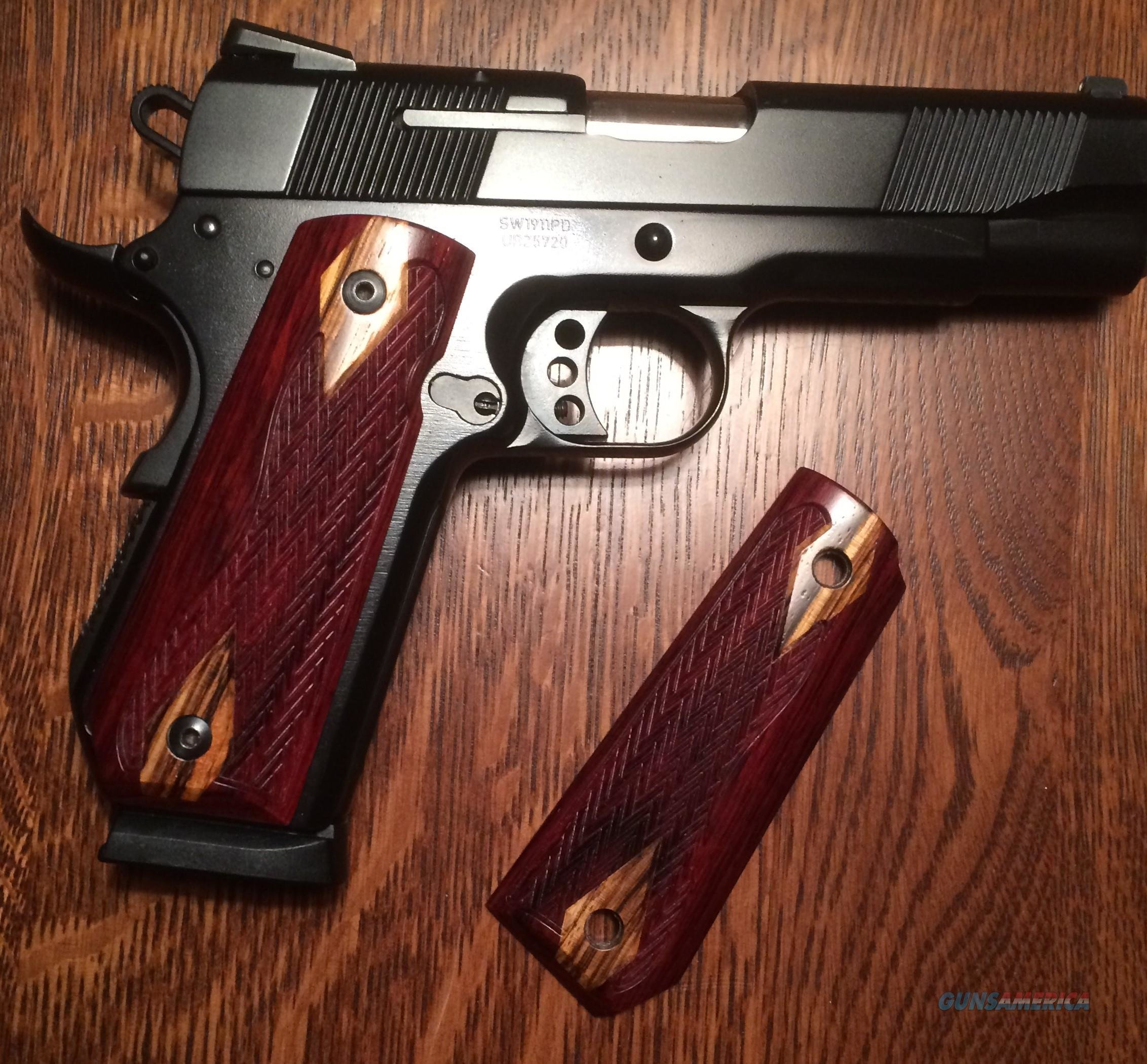 Springfield Armory Springfield EMP with Crimson trace grips and VZ's 9mm   Guns > Pistols > Springfield Armory Pistols > 1911 Type